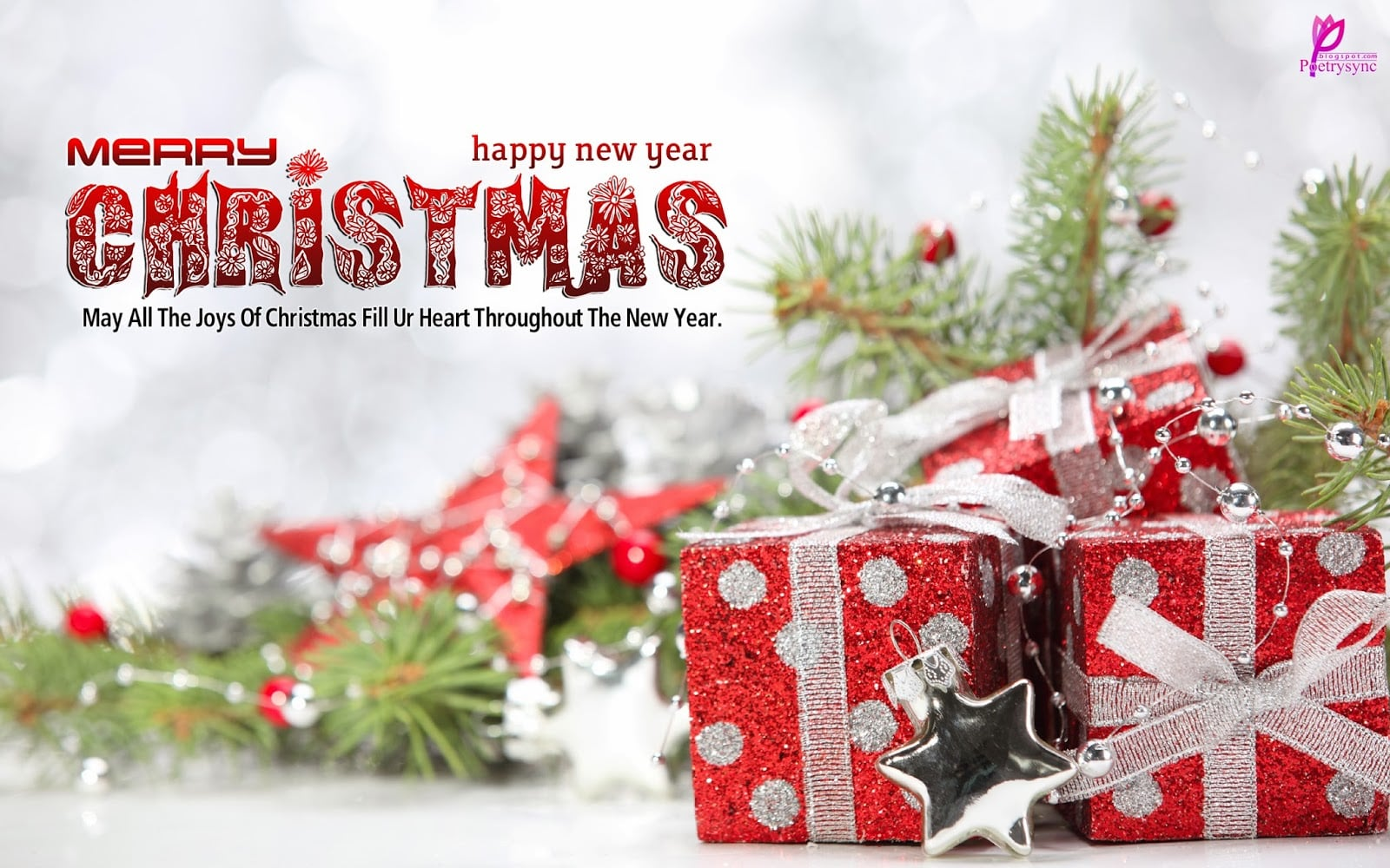 Beautiful Merry Christmas And Happy New Year 2309047 Hd Wallpaper Backgrounds Download
