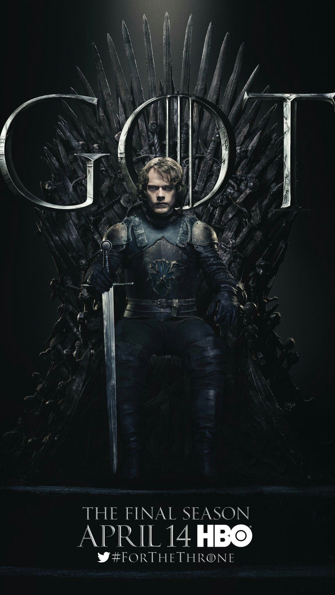 Game Of Thrones Season 8 Theon , HD Wallpaper & Backgrounds