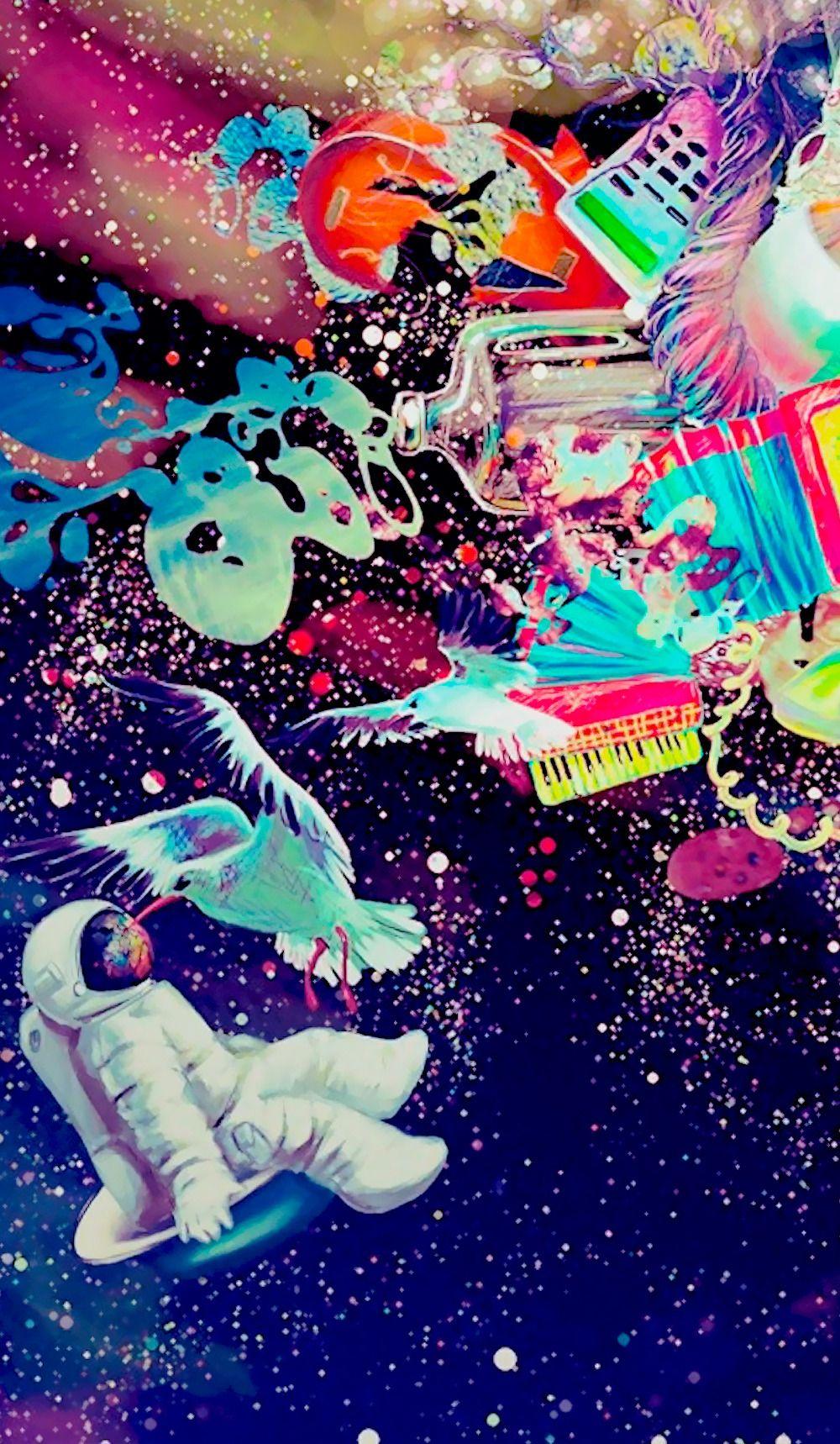 High Astronaut Wallpaper 4k Phone 2316594 Hd Wallpaper Backgrounds Download