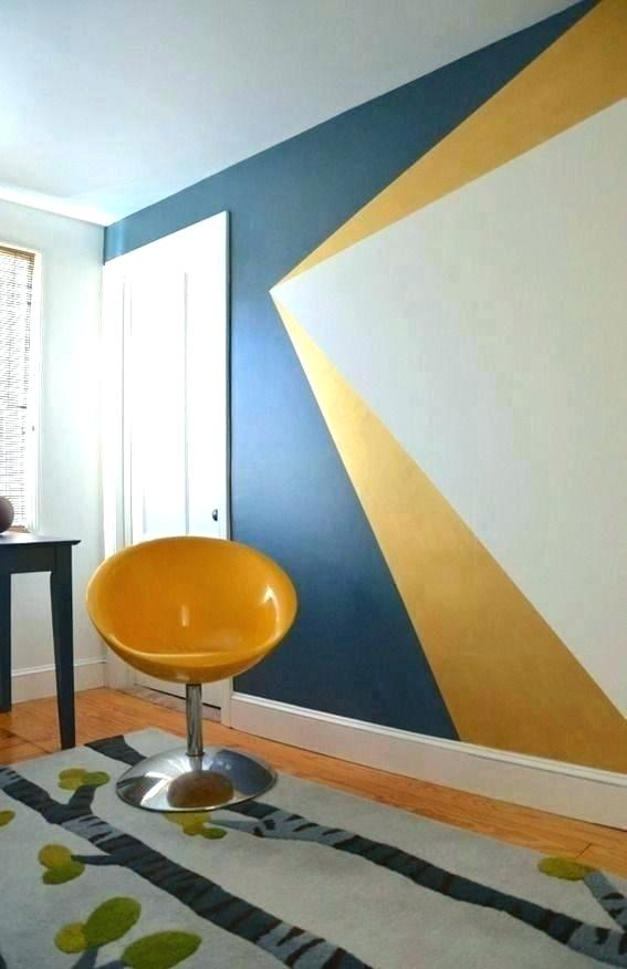 Accent Wall Paint Design , HD Wallpaper & Backgrounds