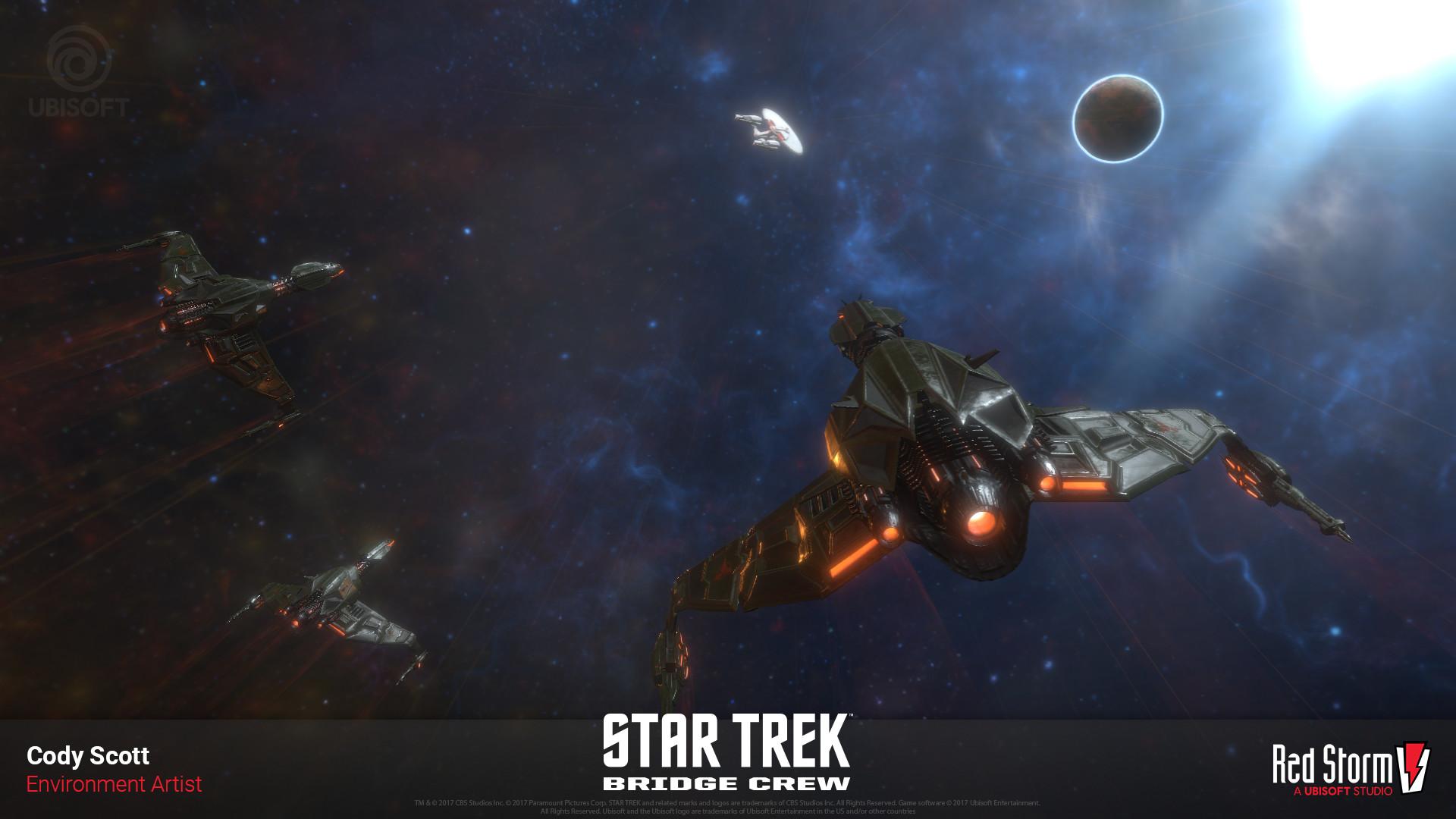 Star Trek Bird Of Prey Ship 2322081 Hd Wallpaper