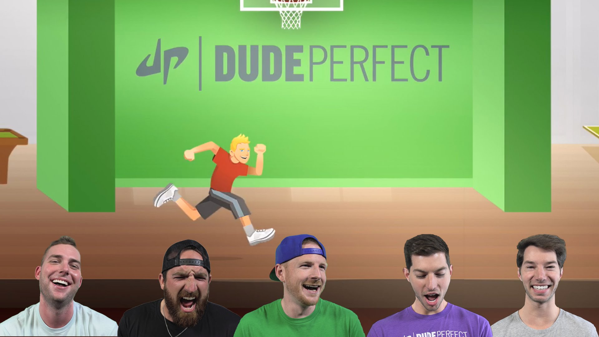 Dude Perfect Endless Ducker , HD Wallpaper & Backgrounds