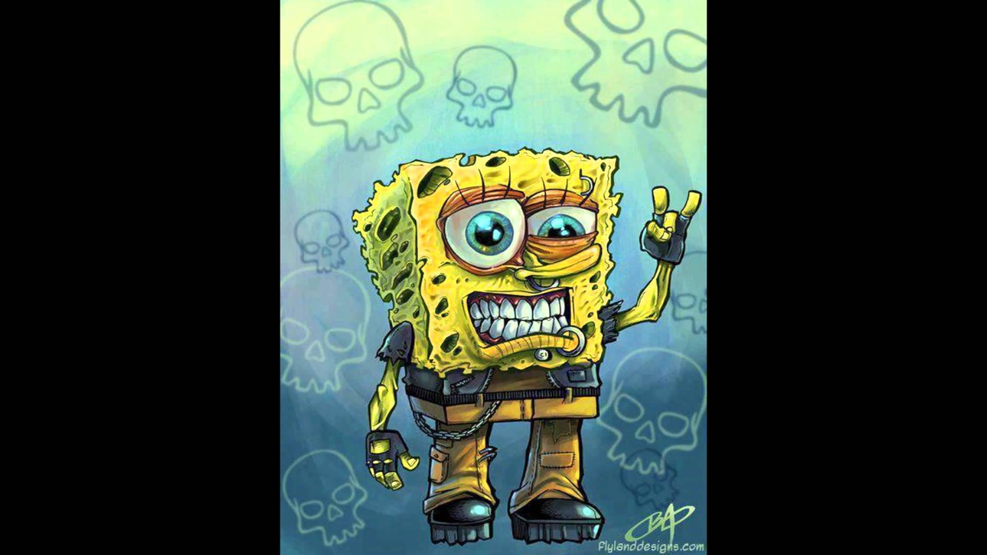 Gambar Spongebob Zombie Keren 2330565 Hd Wallpaper Backgrounds Download