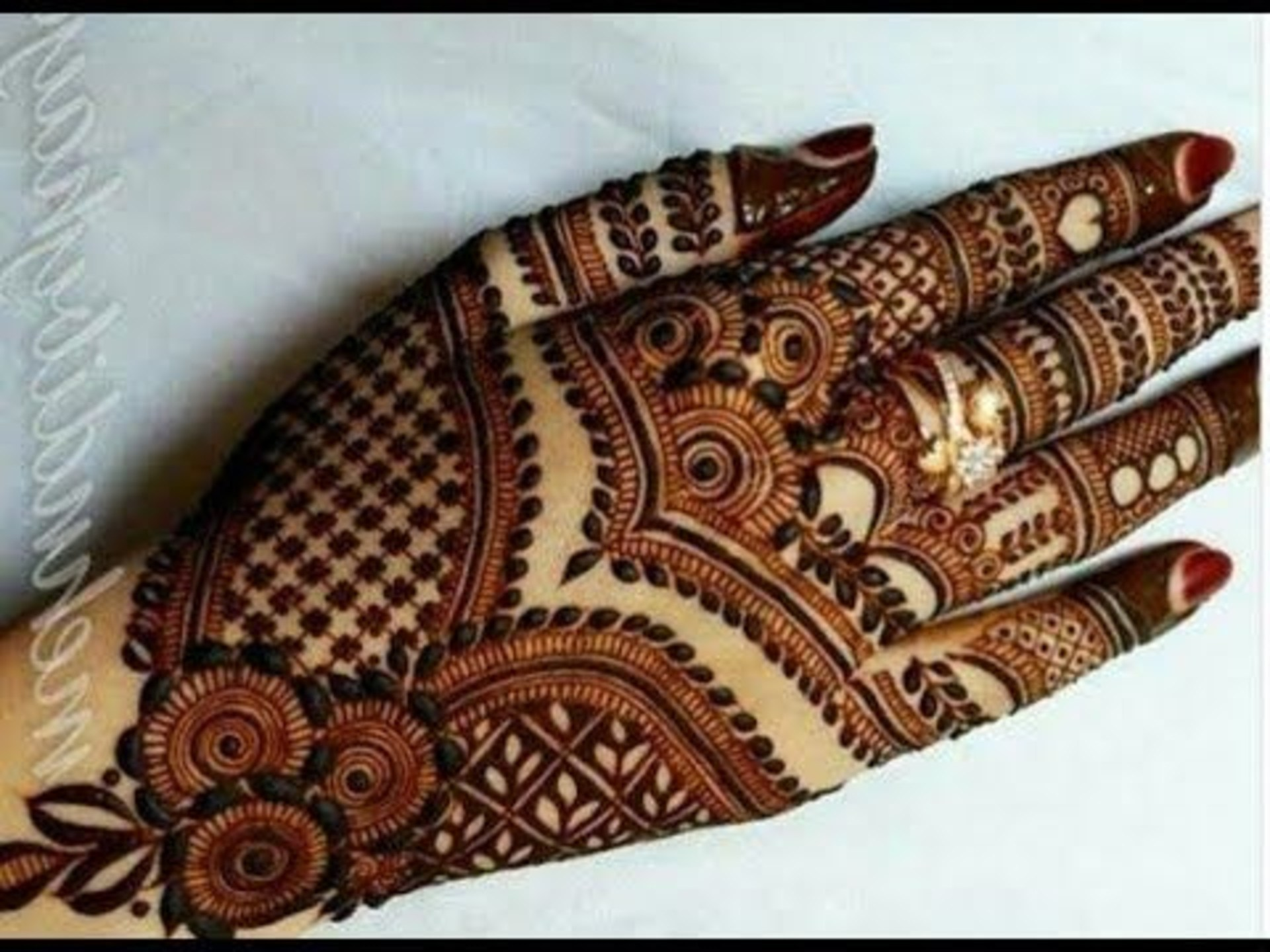 Dubai Style Mehndi Designs , HD Wallpaper & Backgrounds