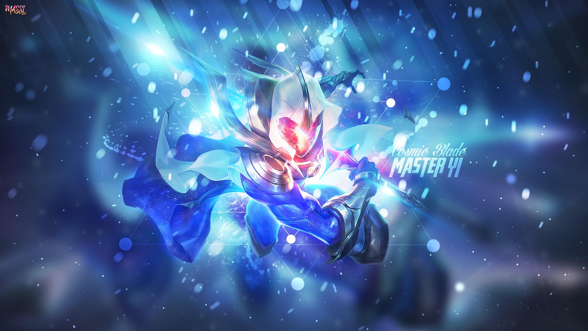 Cosmic Blade Master Yi 2336026 Hd Wallpaper Backgrounds
