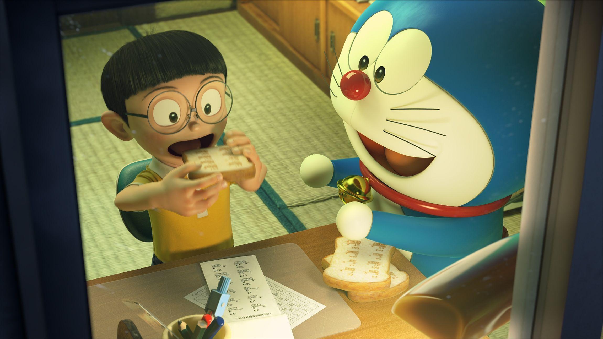 Doraemon Stand By Me Doraemon HD Wallpaper