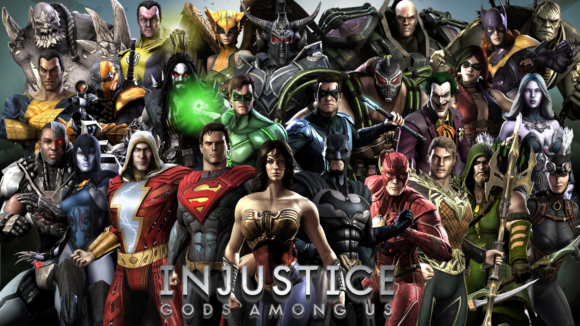 Injustice Gods Among Us 2345233 Hd Wallpaper Backgrounds Download