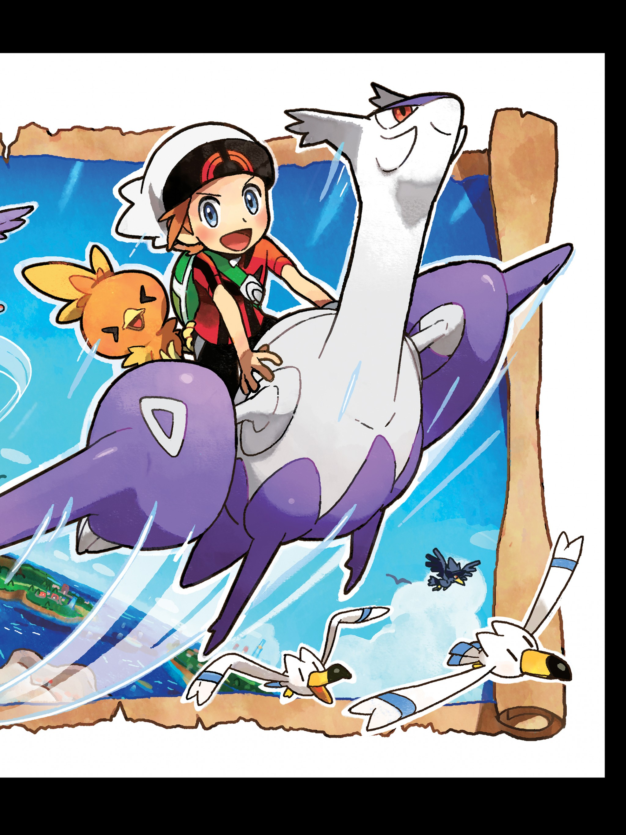 Pokemon Omega Ruby Alpha Sapphire Official Art 2350304 Hd