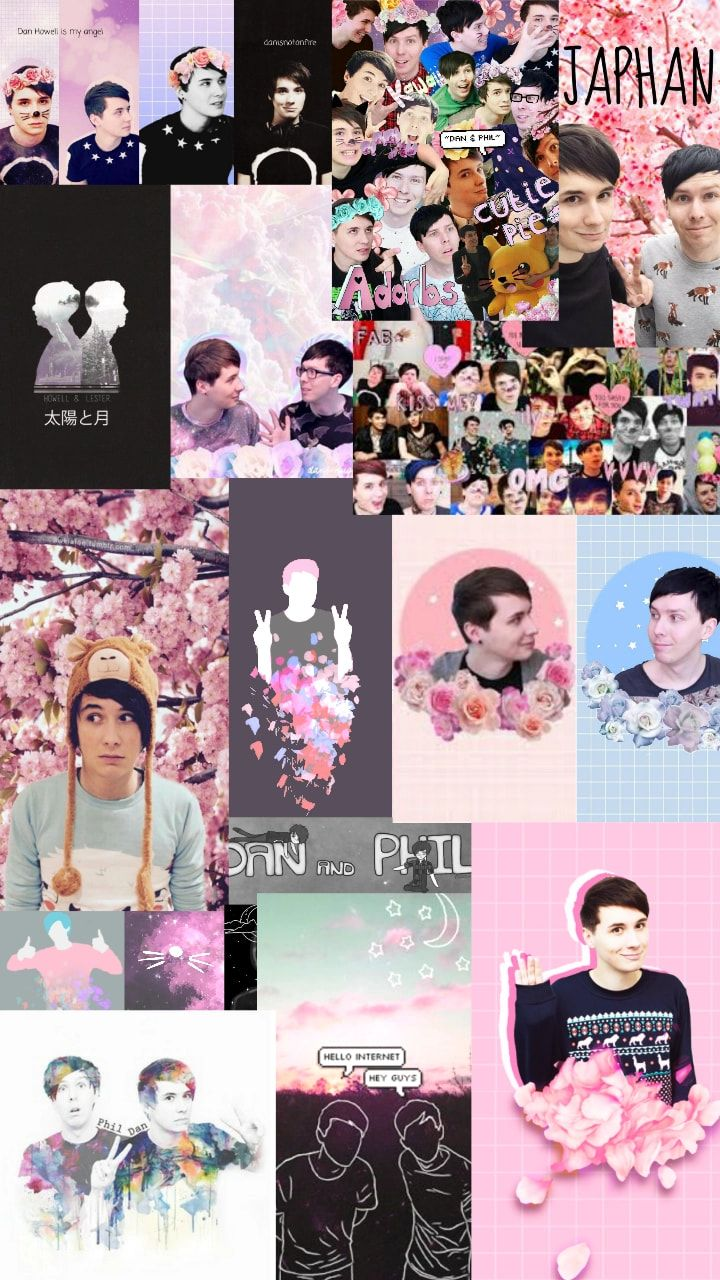 Pastel Dan Howell Aesthetic , HD Wallpaper & Backgrounds