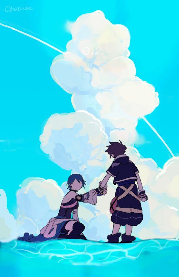 Kingdom Hearts Iphone Wallpaper Aqua 2352599 Hd Wallpaper Backgrounds Download