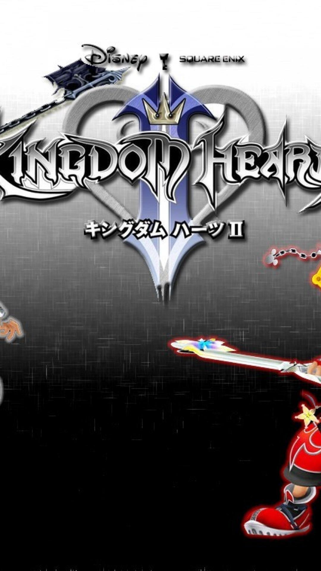 Transparent Kingdom Hearts 2 Logo , HD Wallpaper & Backgrounds