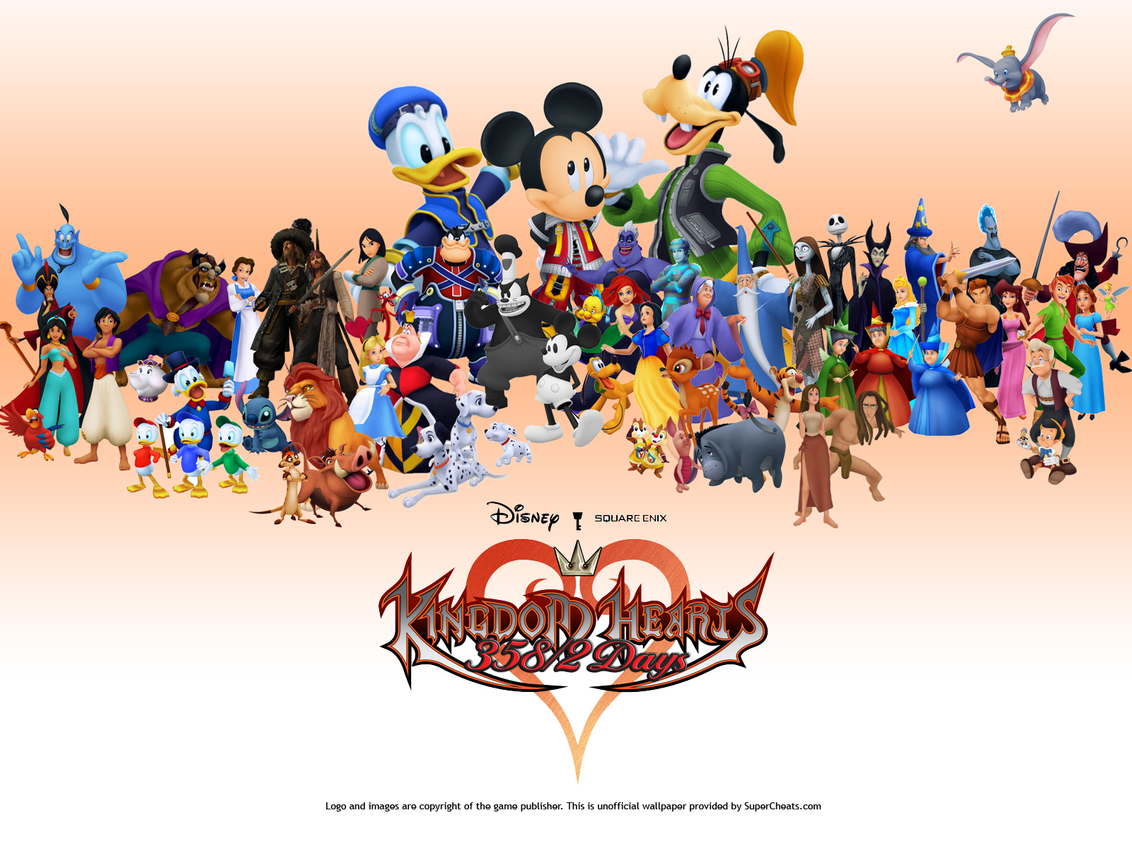 All Disney Characters In Kingdom Hearts 3 , HD Wallpaper & Backgrounds