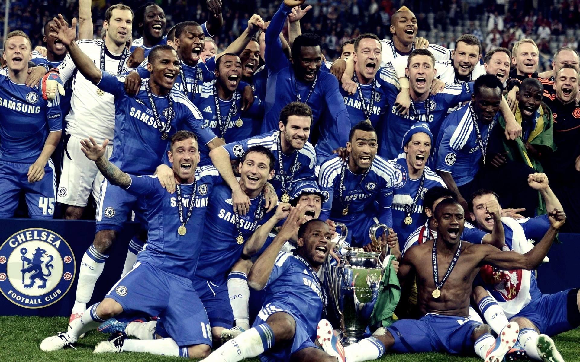 Chelsea Ligue Des Champions , HD Wallpaper & Backgrounds