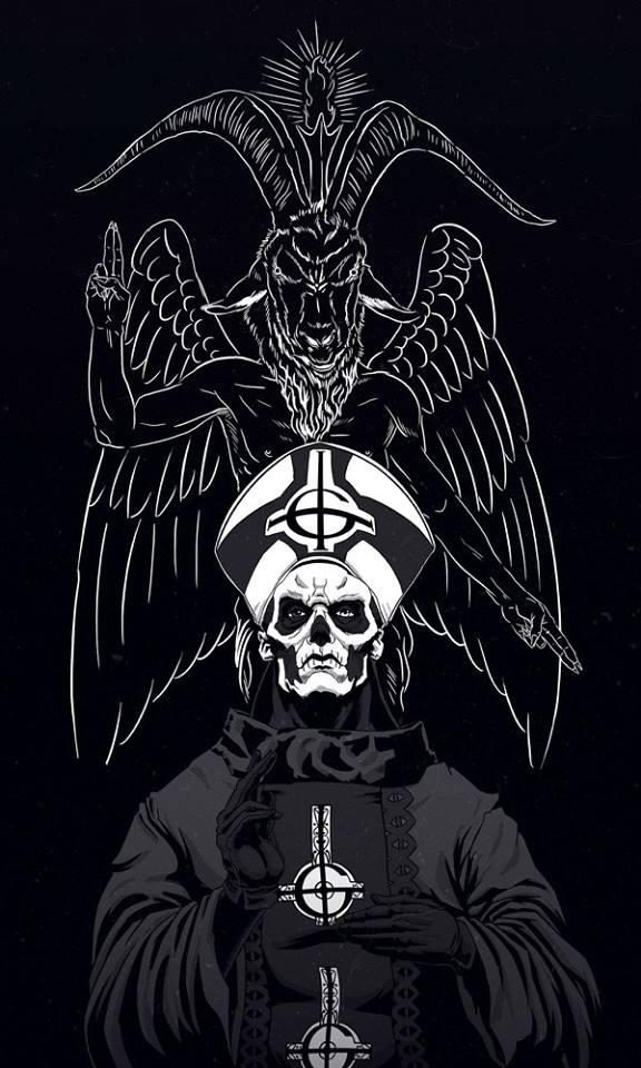 Ghost Papa Emeritus Art 2354587 Hd Wallpaper Backgrounds Download