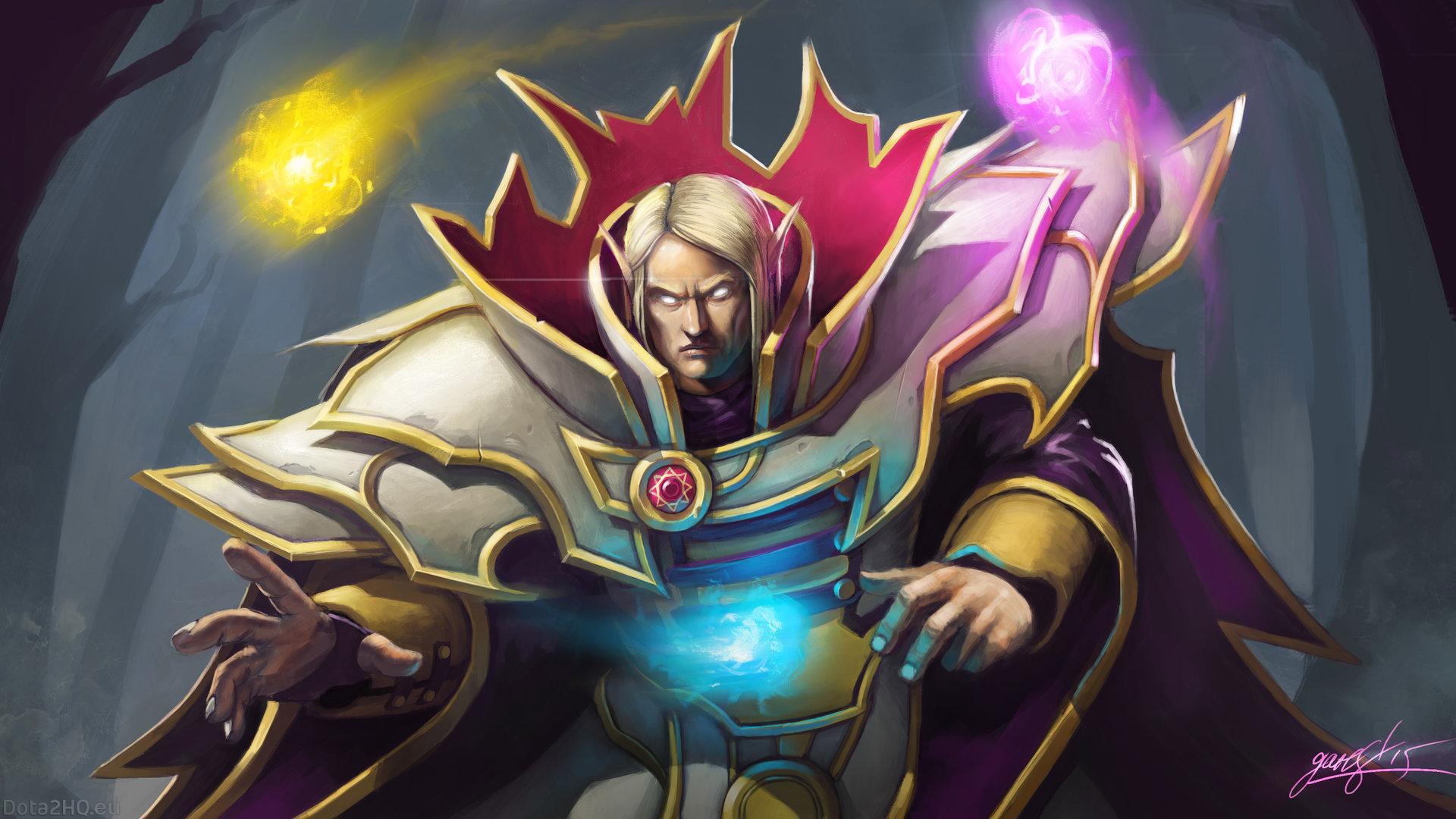 Heroes Dota 2 Invoker , HD Wallpaper & Backgrounds