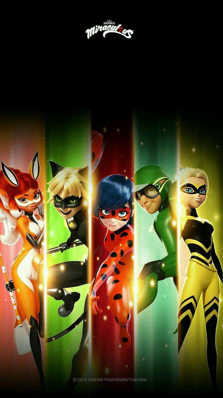 Miraculous Ladybug All Superheroes 2357914 Hd Wallpaper