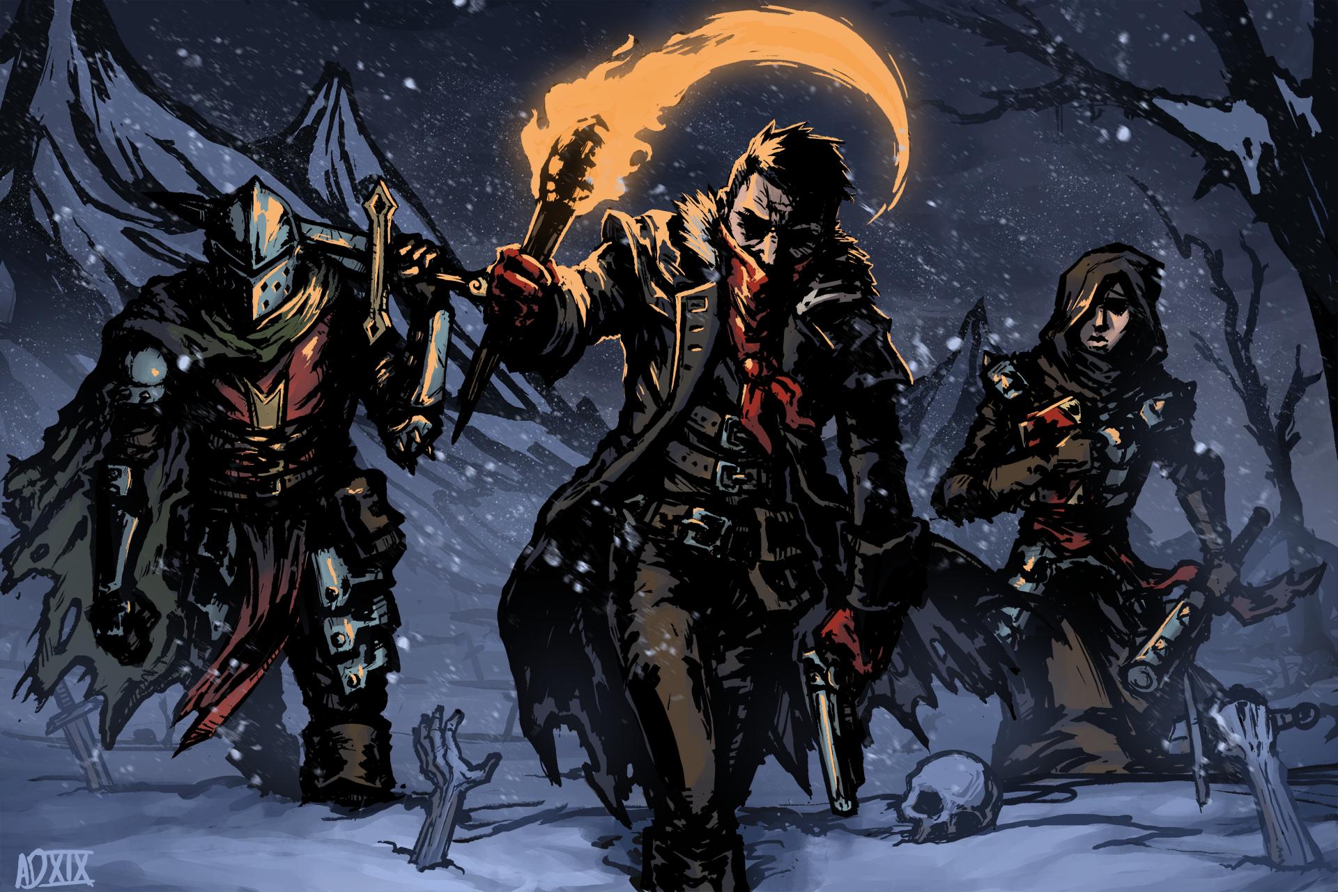 Darkest Dungeon 2 Fanart (#2362190) - HD Wallpaper ...