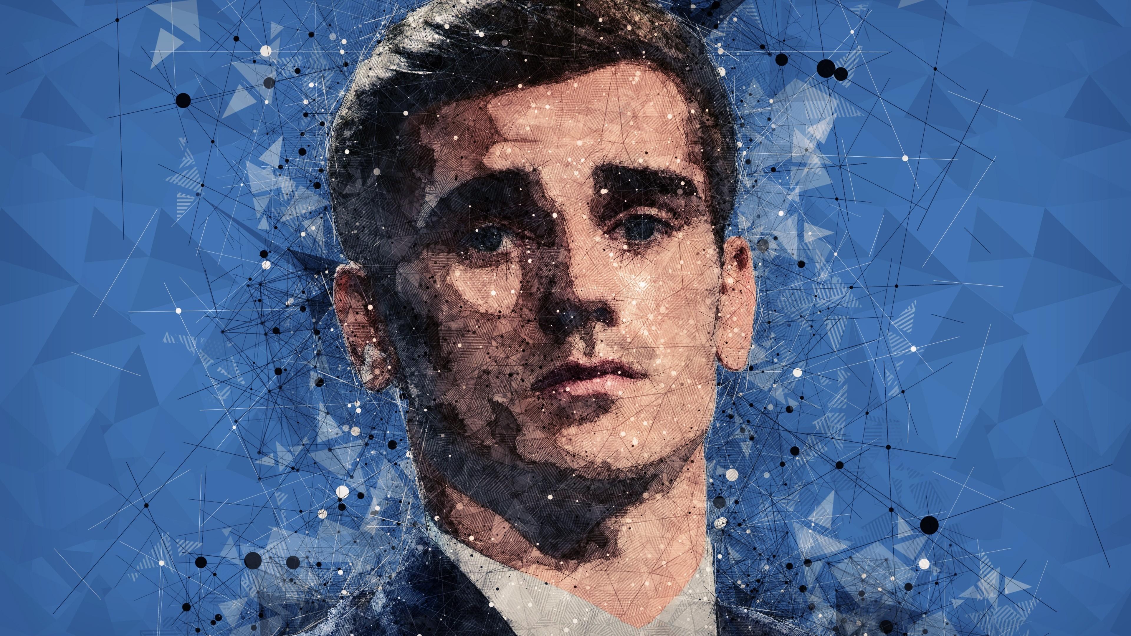 Antoine Griezmann Pixel Art 2363620 Hd Wallpaper