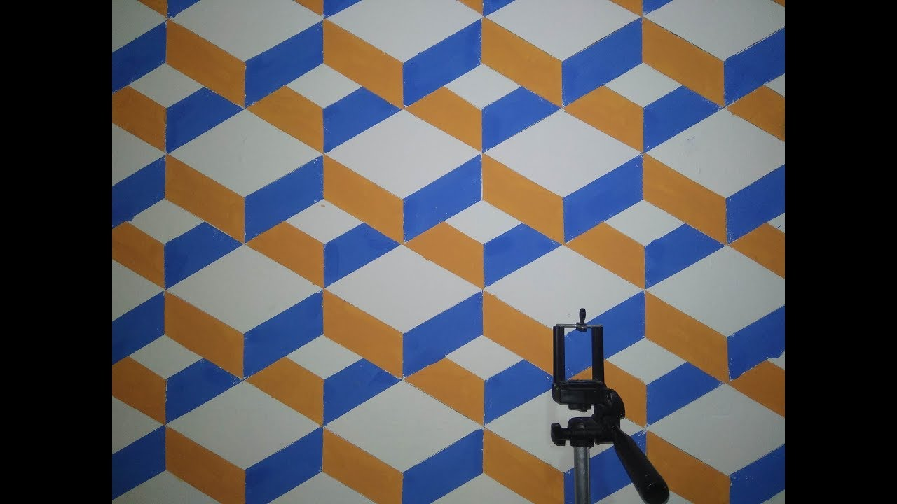 Modern Geometric Tile HD Wallpaper
