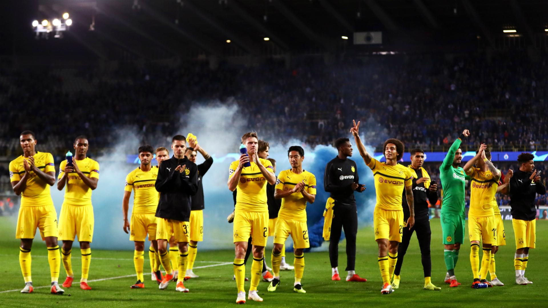 Favre Admits Young Dortmund Stars Struggled In Bruges Bvb Dortmund 2369821 Hd Wallpaper Backgrounds Download