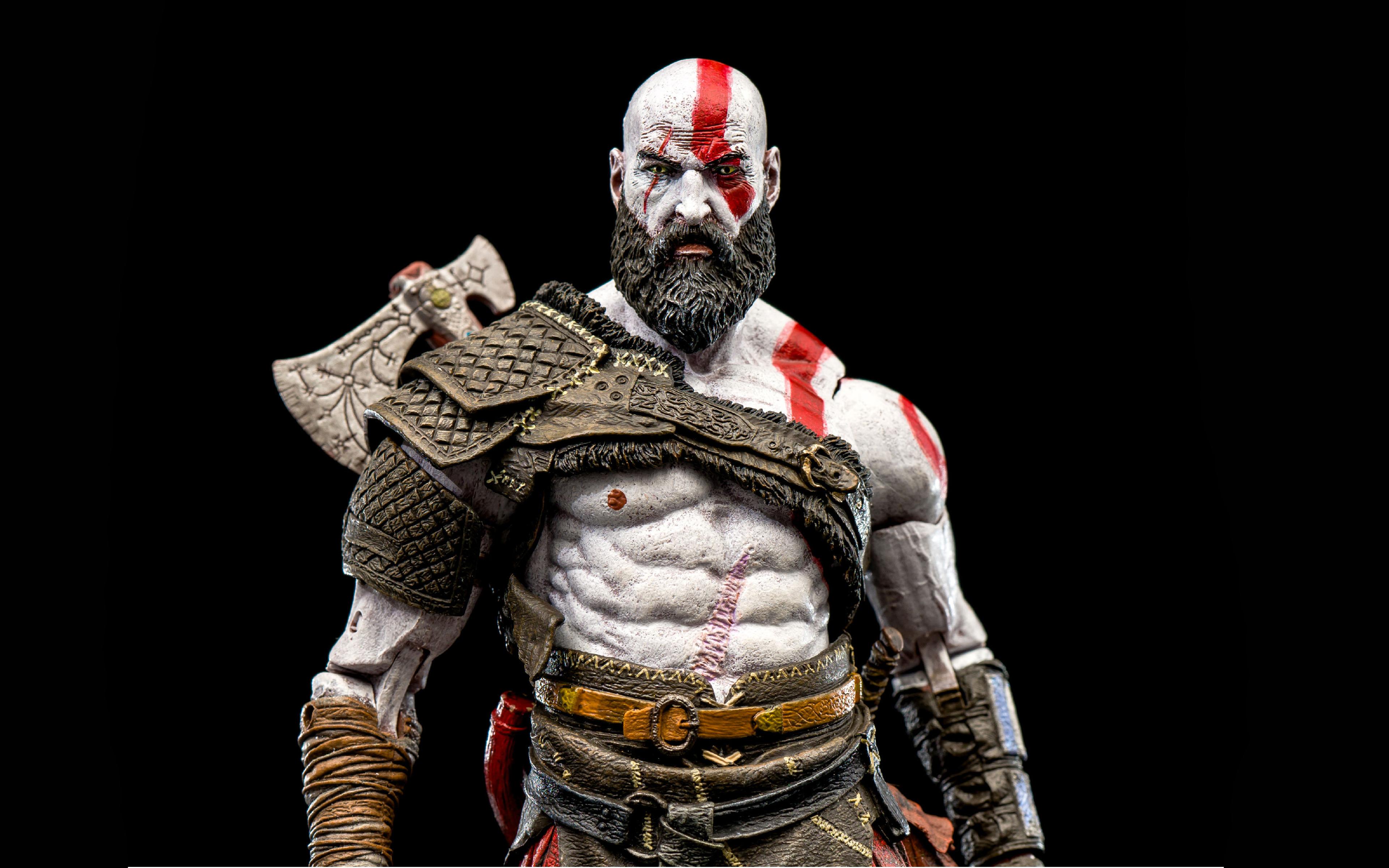Kratos God Of War 2018 2370239 Hd Wallpaper