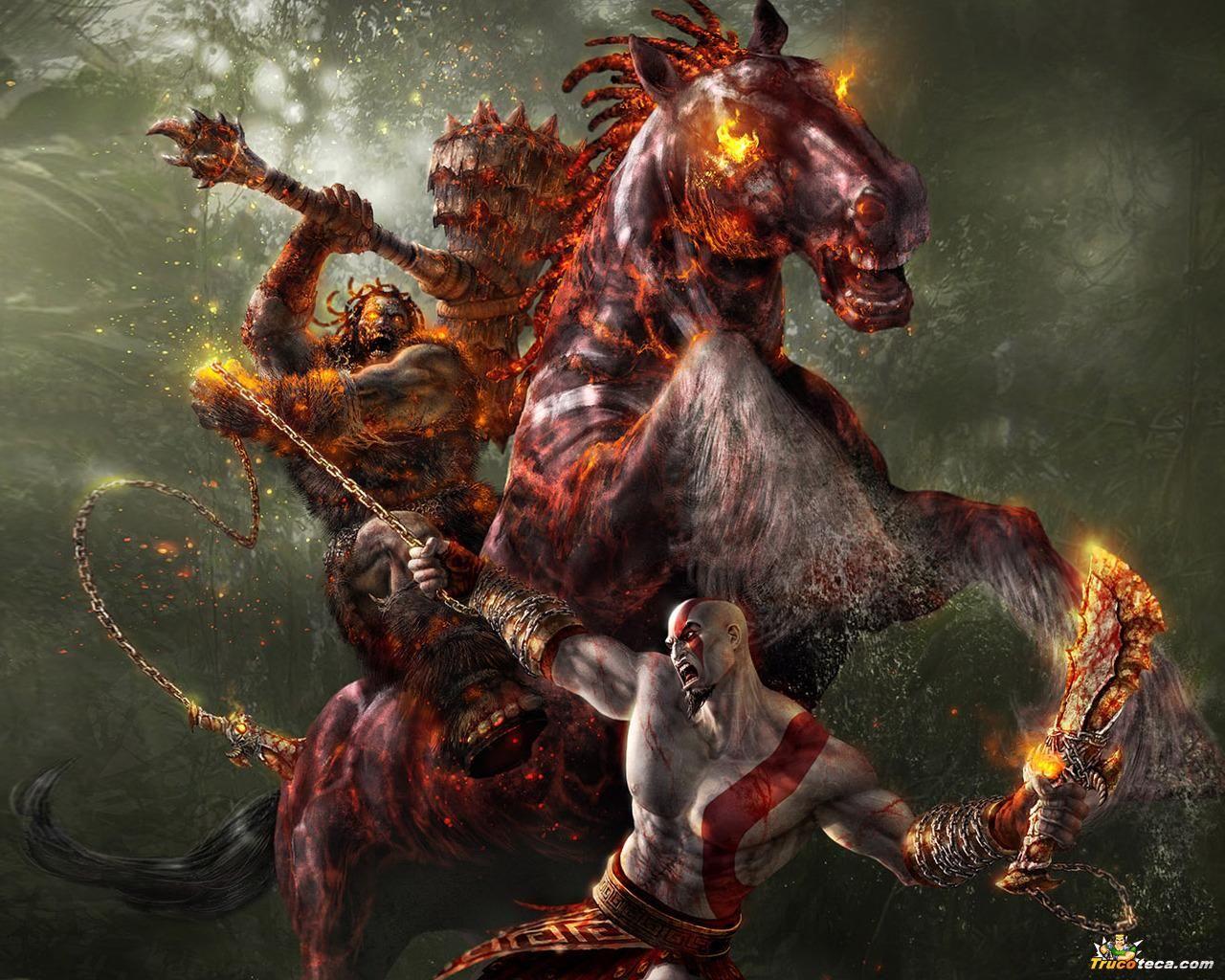 God Of War Keren Hd , HD Wallpaper & Backgrounds