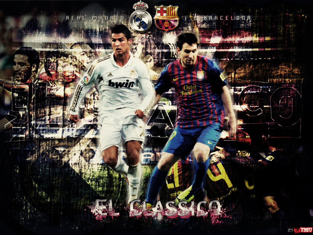 Messi And Ronaldo Wallpaper For Iphone , HD Wallpaper & Backgrounds