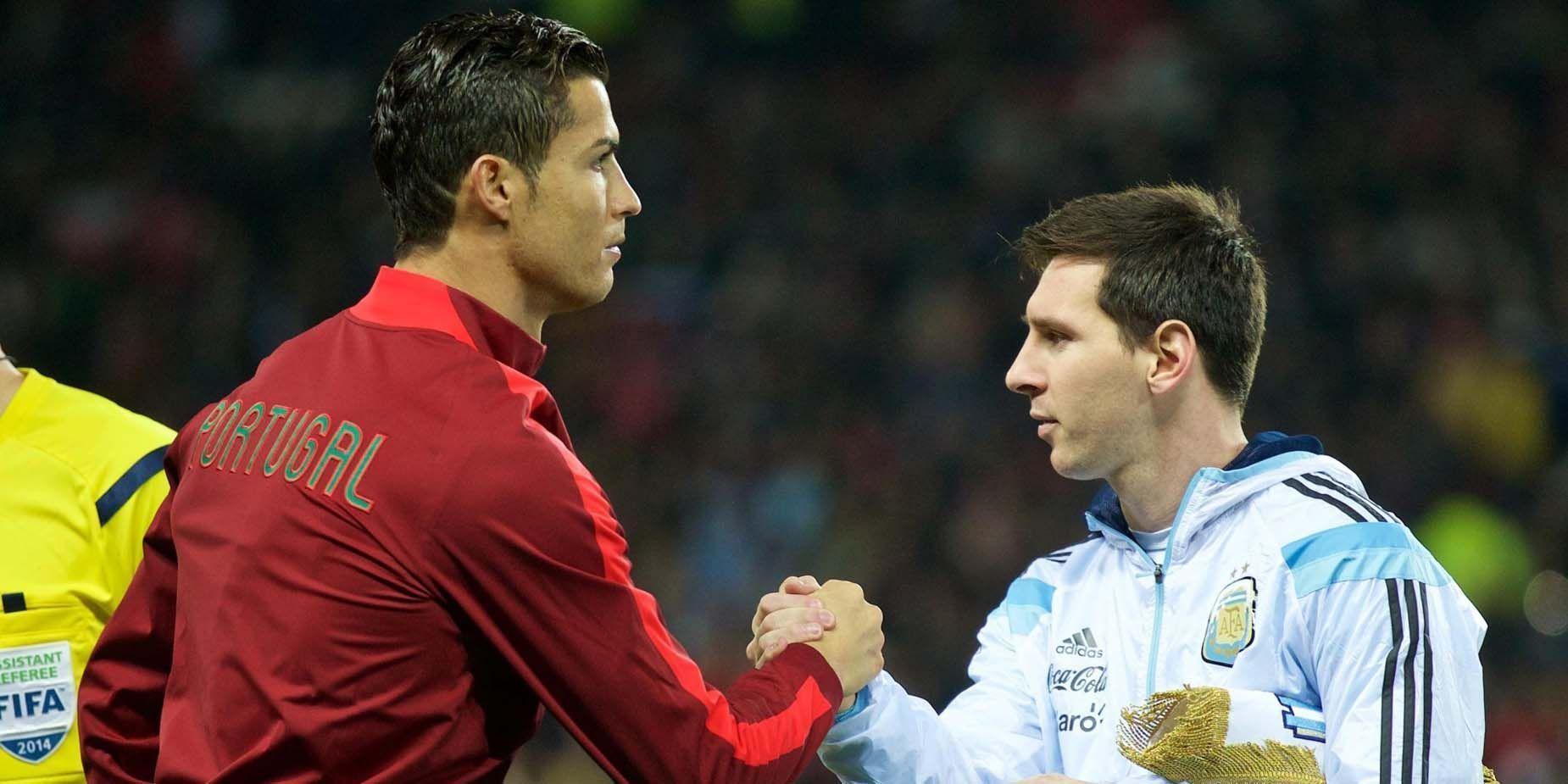 Messi Vs Ronaldo Wallpaper 2016 , HD Wallpaper & Backgrounds