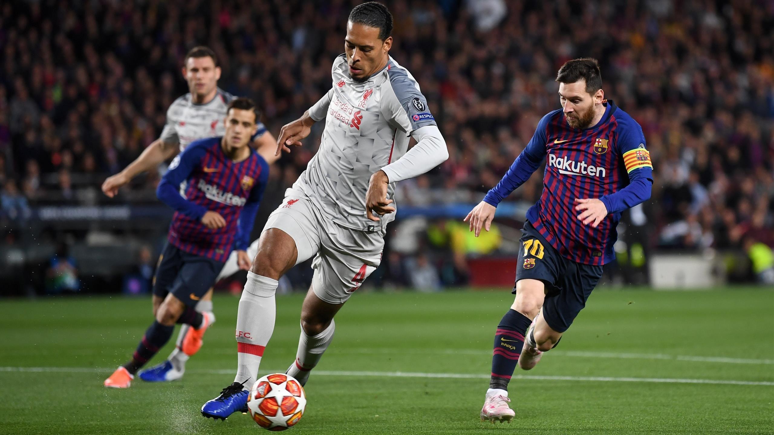 Virgil Van Dijk Messi , HD Wallpaper & Backgrounds