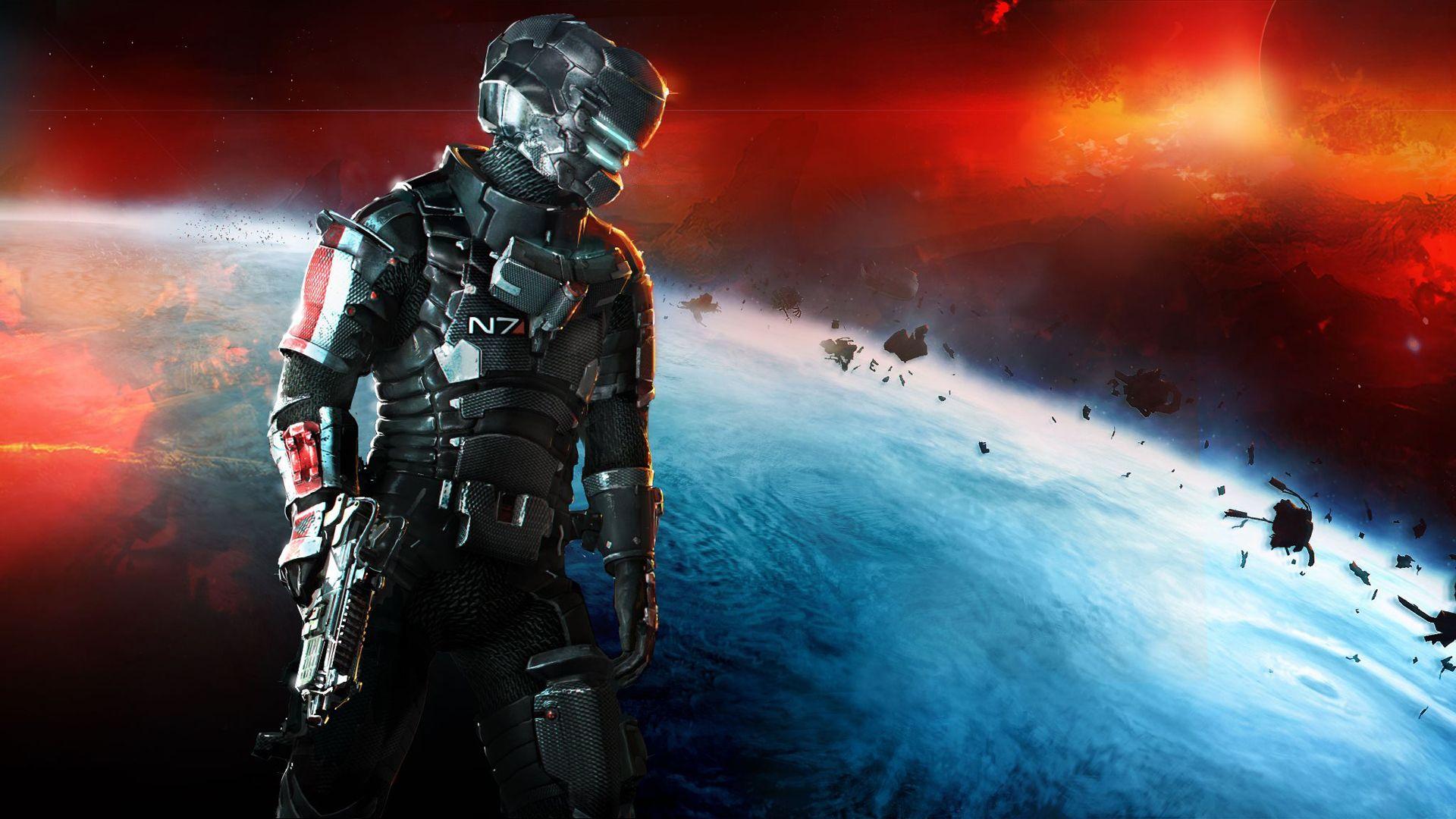 Dead Space 3 N7 2378480 Hd Wallpaper Backgrounds Download