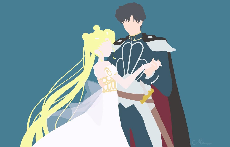 Desktop Sailor Moon Minimalist (#2379115) - HD Wallpaper ...