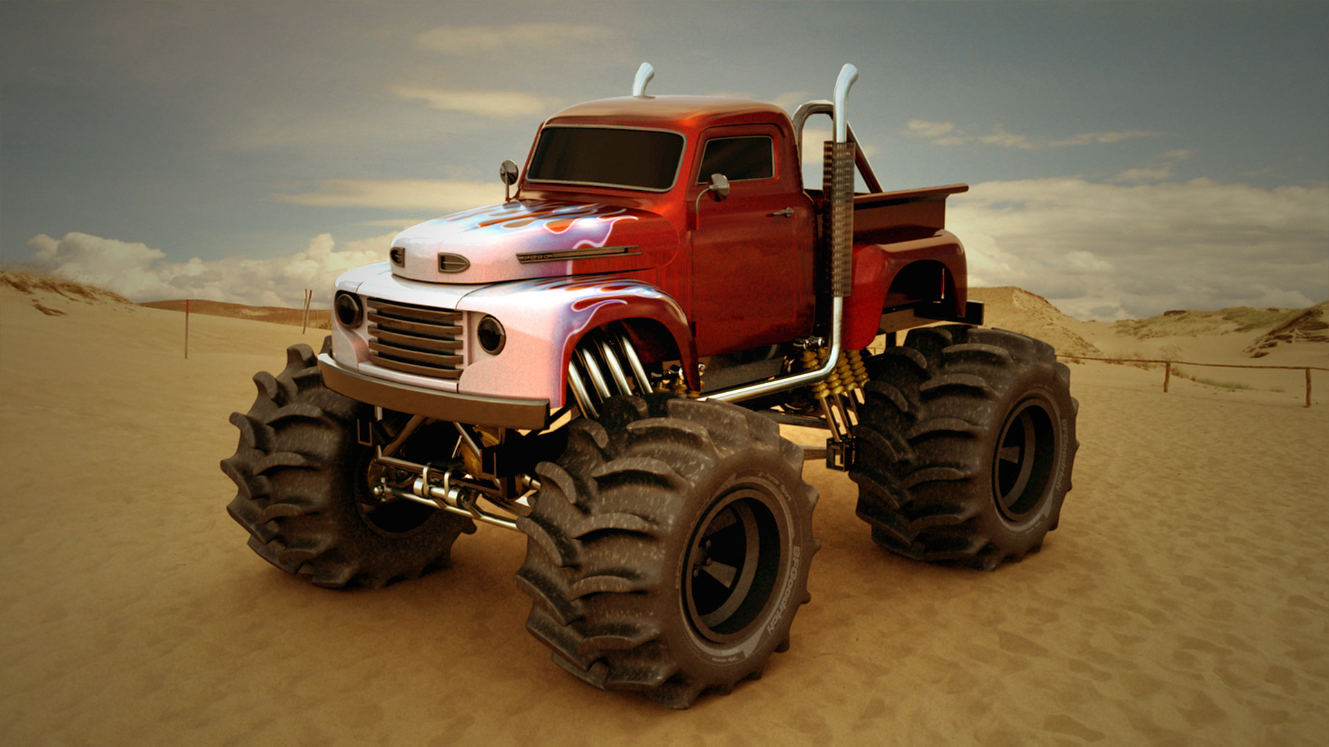 Monster Truck Wallpaper Hd 2379982 Hd Wallpaper Backgrounds Download