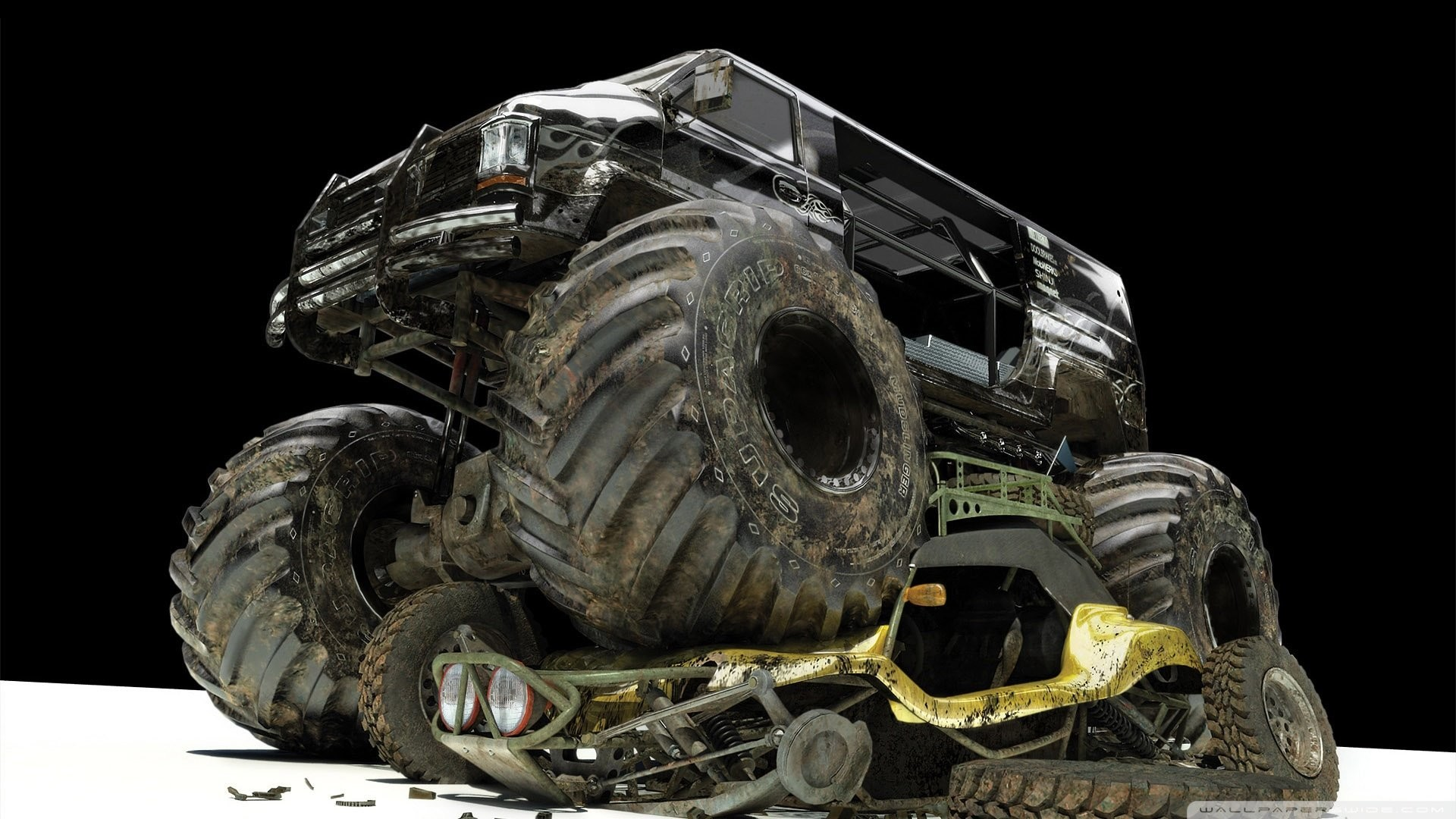 Monster Truck Wallpaper Phone 2380066 Hd Wallpaper Backgrounds Download