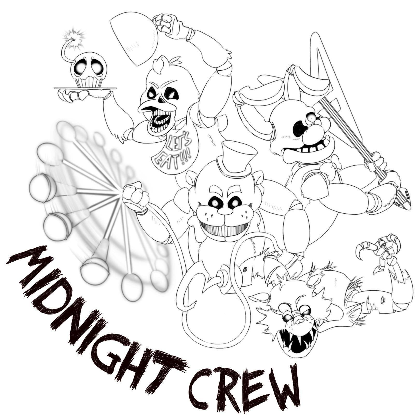 Five Nights At Freddy S Coloring Pages Bonnie - Coloring Page Five ... | 1616x1620