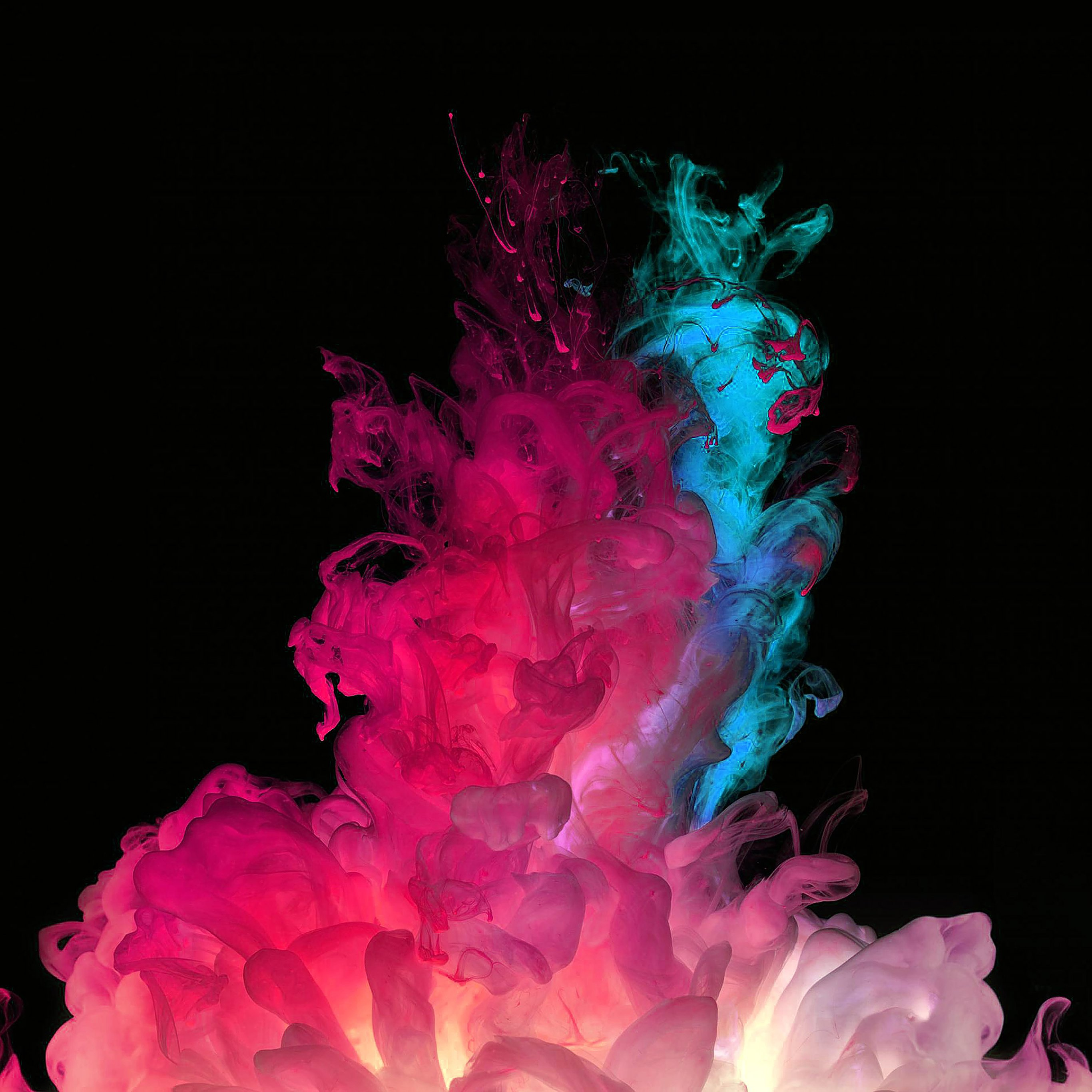Pink And Blue Smoke 2385717 Hd Wallpaper Backgrounds Download