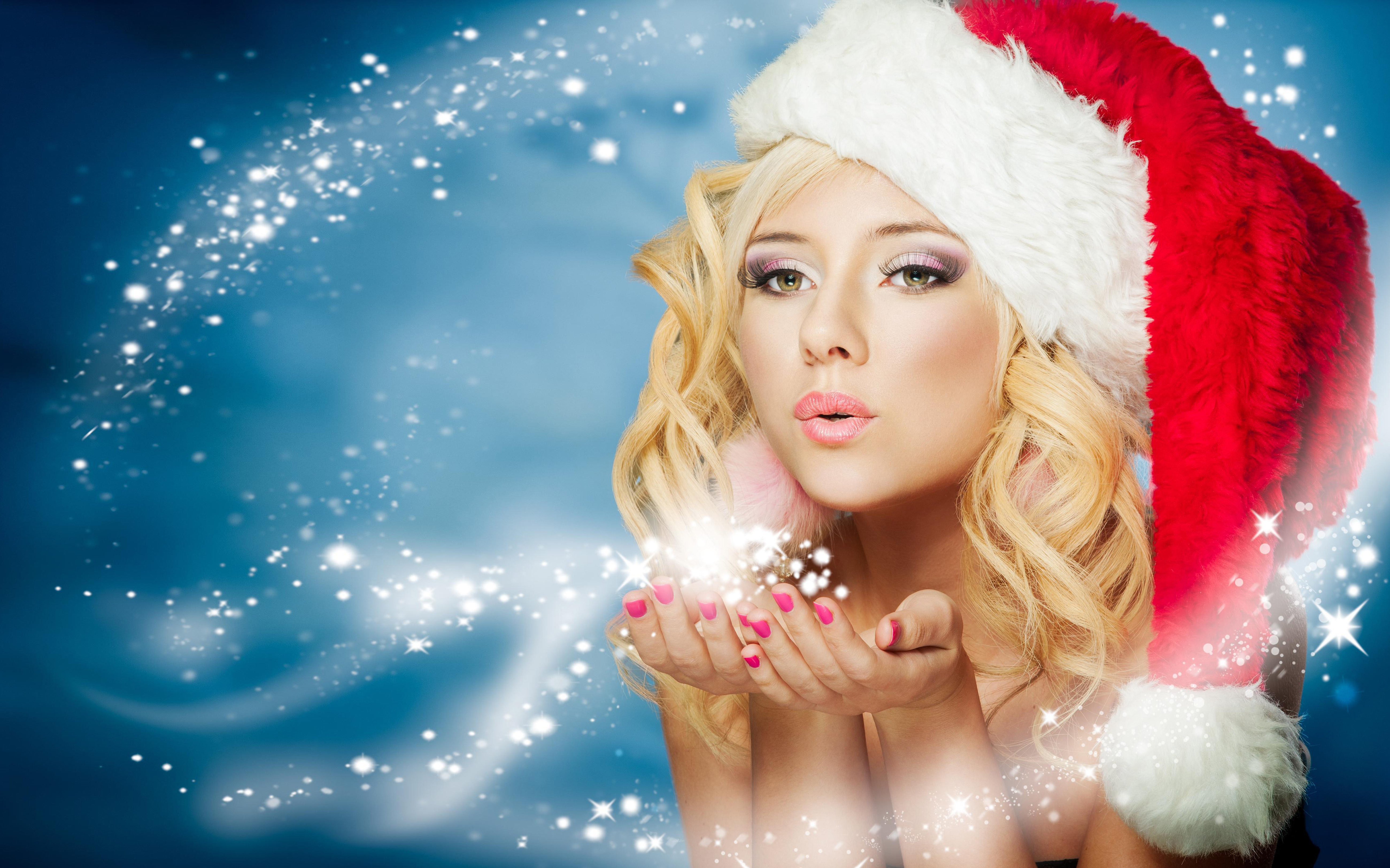 Merry Christmas Beautiful Girl Quotes , HD Wallpaper & Backgrounds