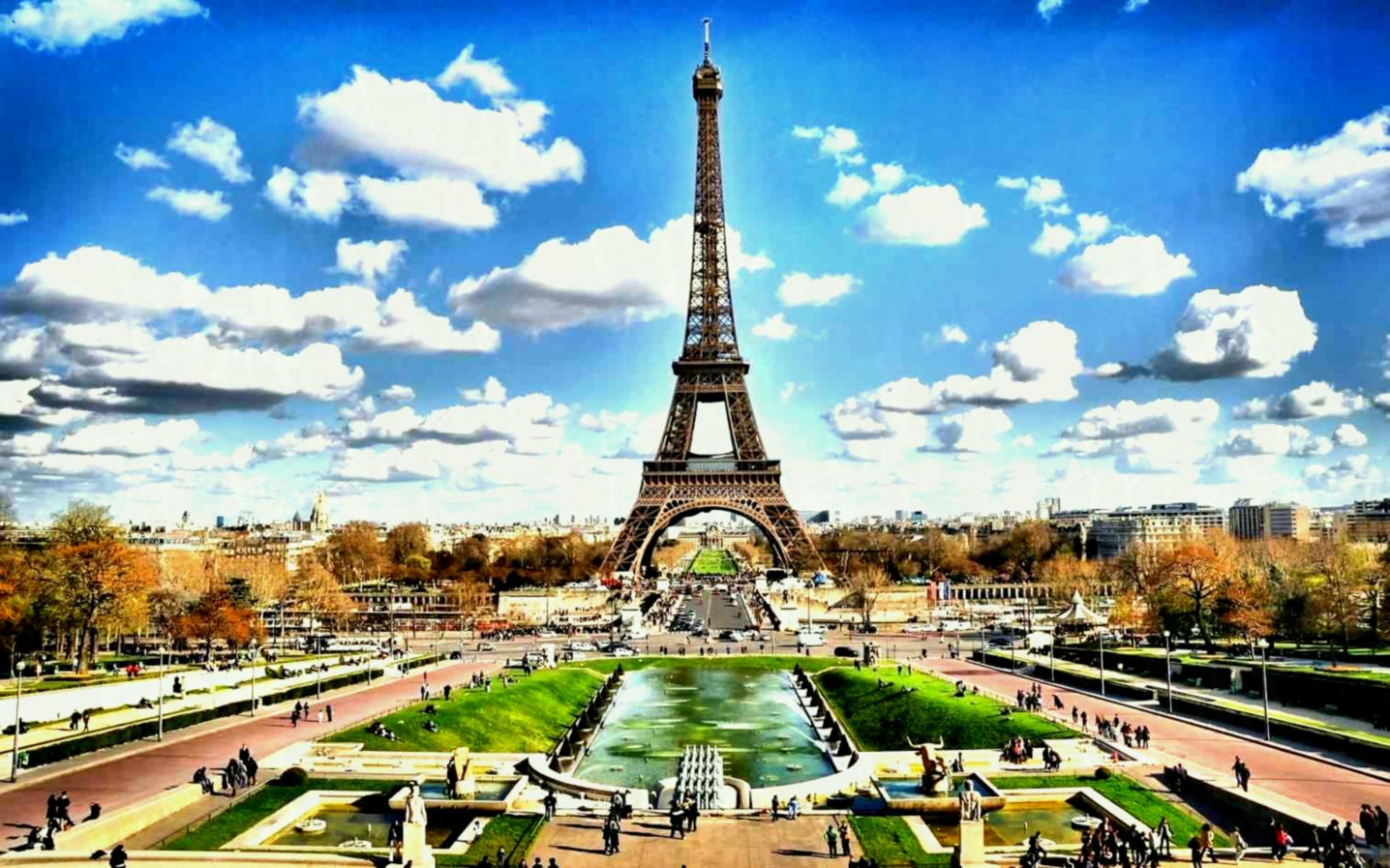 Eiffel Tower , HD Wallpaper & Backgrounds