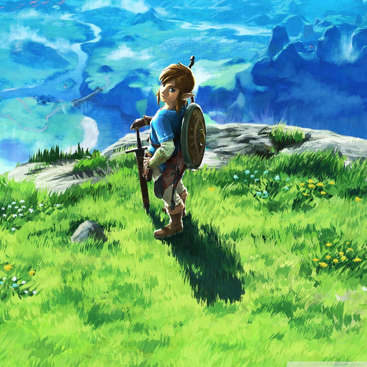 Zelda Botw Wallpaper Iphone 2389833 Hd Wallpaper