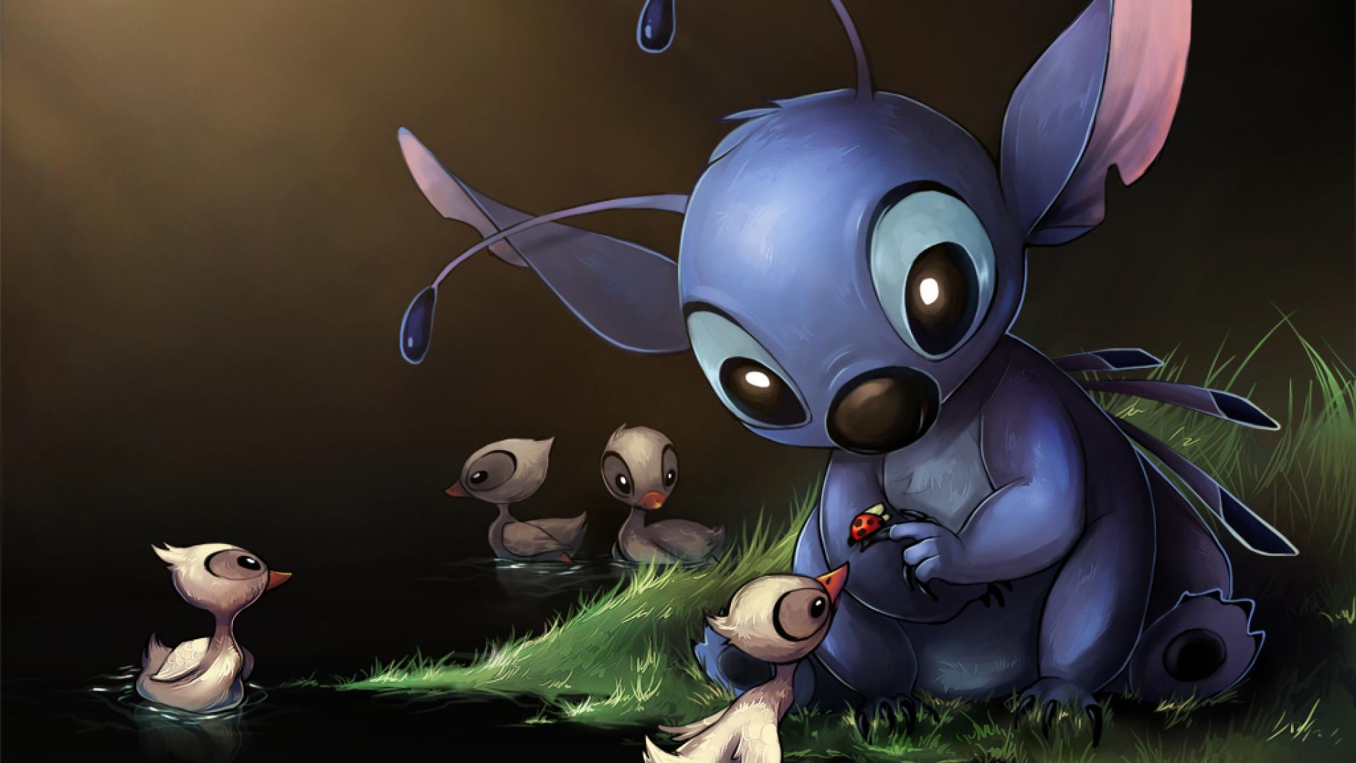 Stitch Hd HD Wallpaper & Backgrounds Download