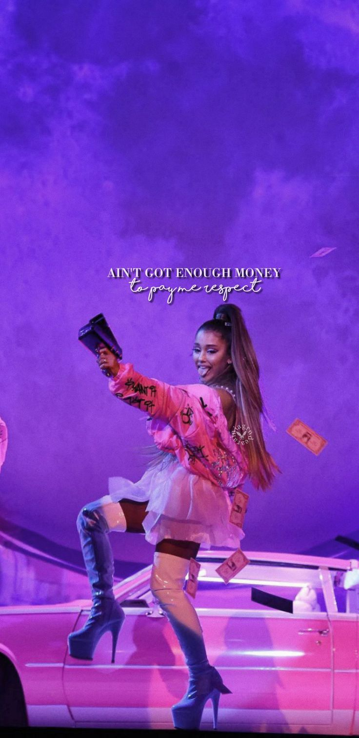 Ariana Grande Sweetener Tour 7 Rings 2392075 Hd Wallpaper Backgrounds Download