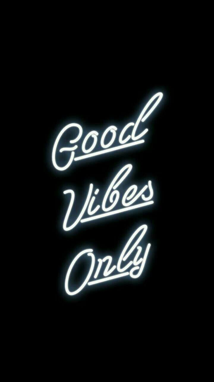 Good Vibes Only Wallpaper Black 2394088 Hd Wallpaper Backgrounds Download