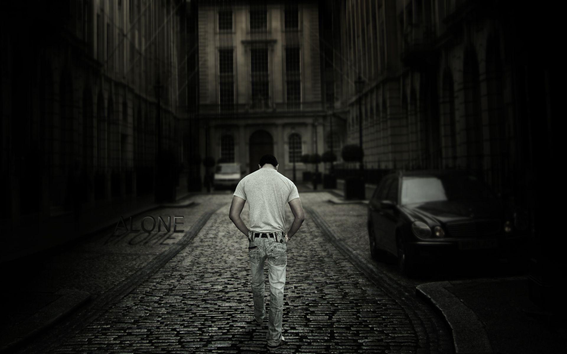 Sad Boy In Street 2397510 Hd Wallpaper Backgrounds