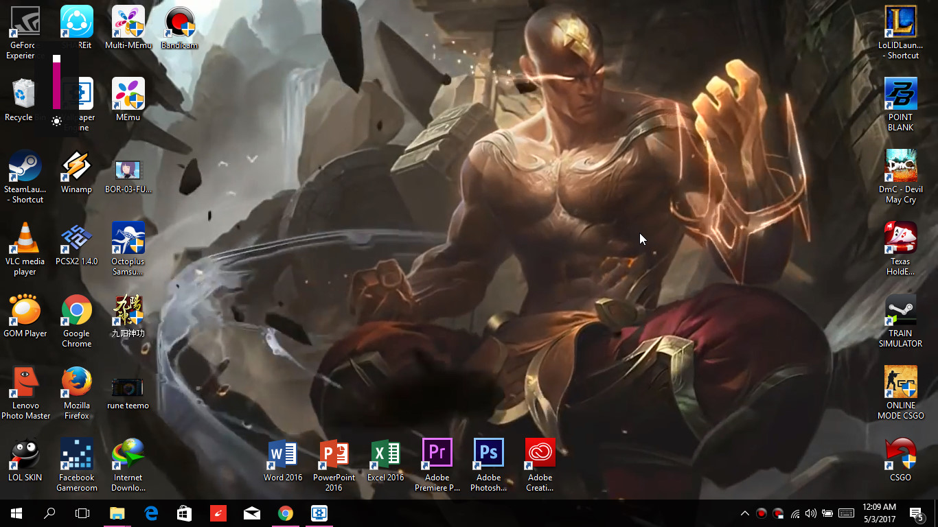 Lee Sin God Fist 2398265 Hd Wallpaper Backgrounds Download
