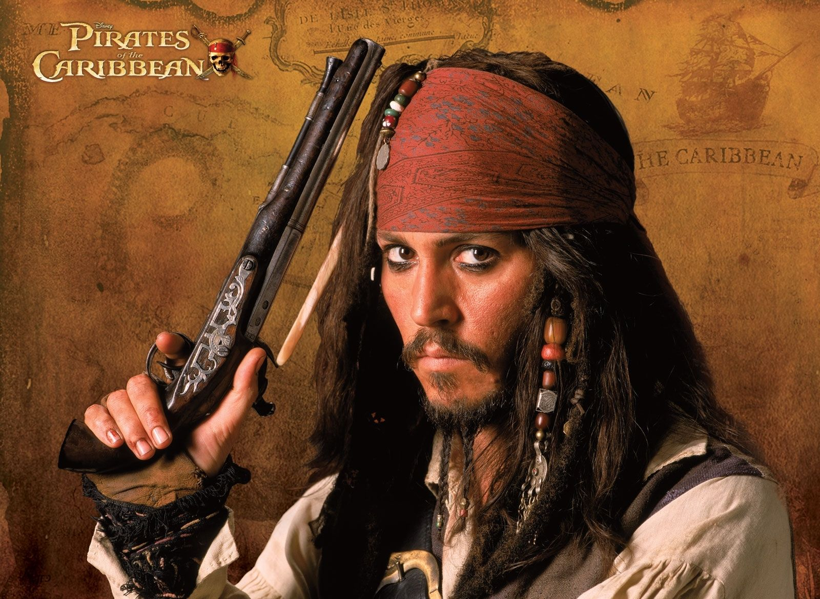 Captain Jack Sparrow Hd Wallpaper Computer - Pirates Of The Caribbean Johnny Depp , HD Wallpaper & Backgrounds