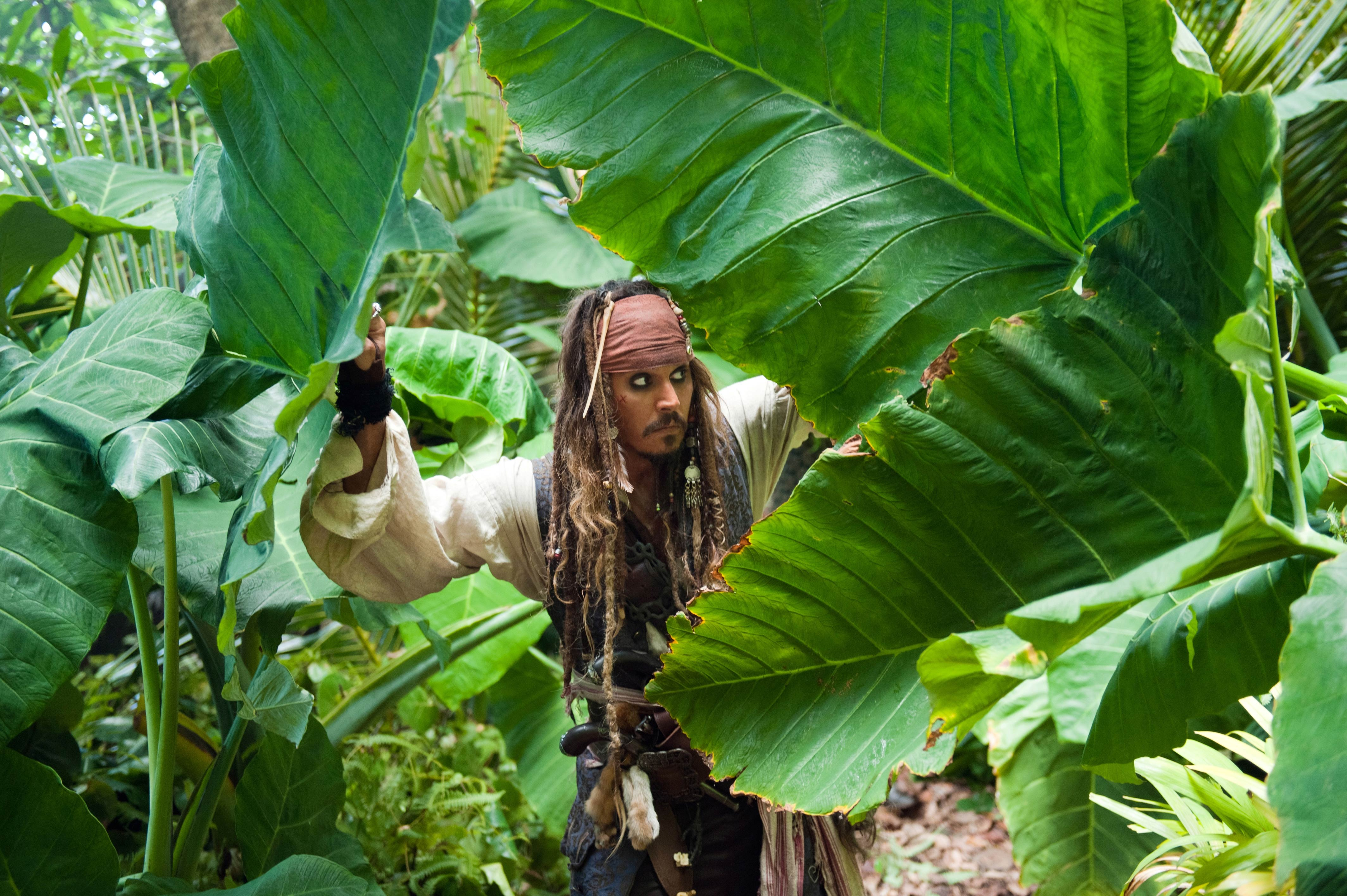 Captain Jack Sparrow From Pirates Of The Caribbean - Captain Jack Sparrow Stranger Tides , HD Wallpaper & Backgrounds