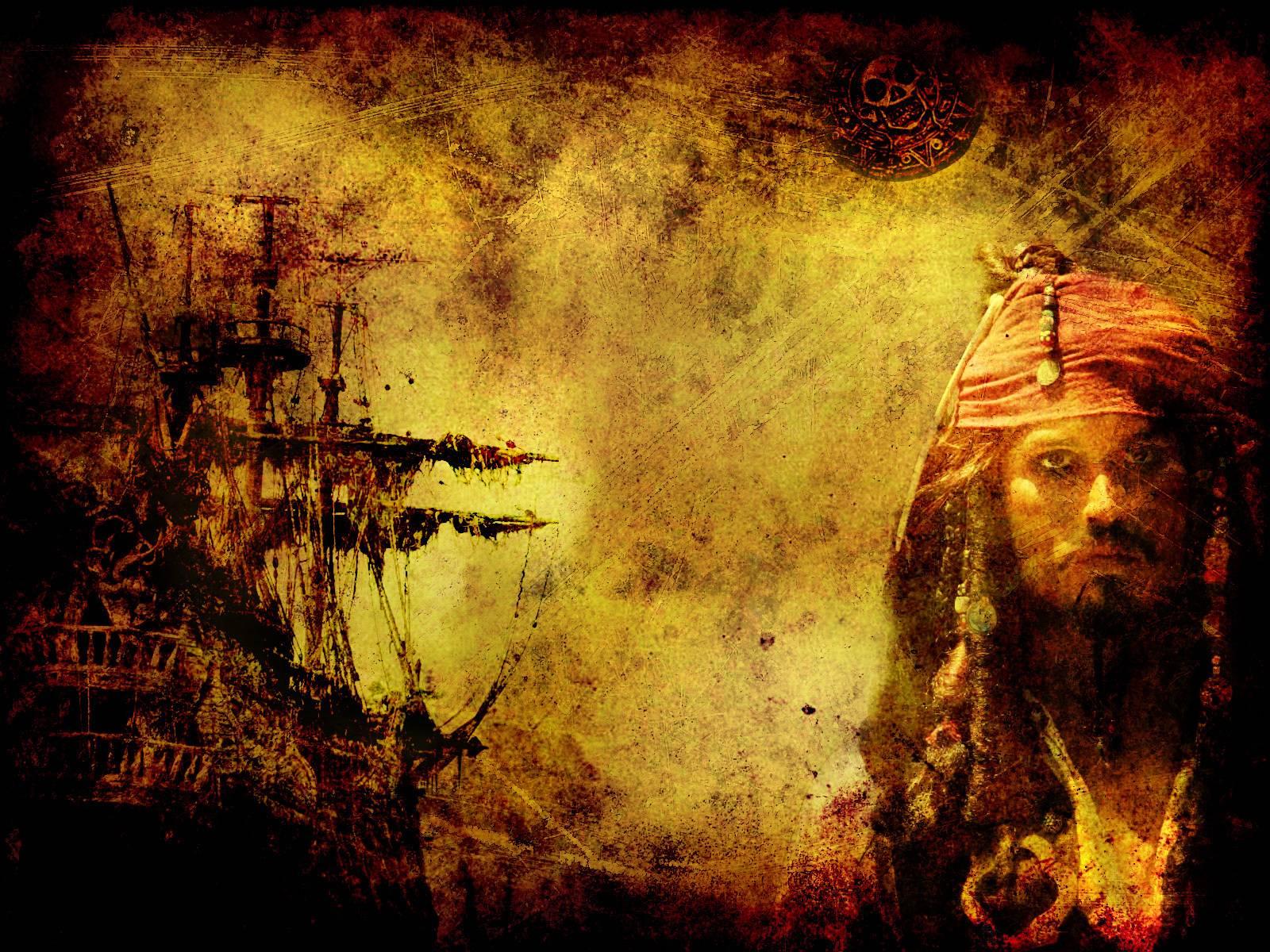 Captain Jack Sparrow Hd Wallpaper - Black Pearl Jack Sparrow , HD Wallpaper & Backgrounds