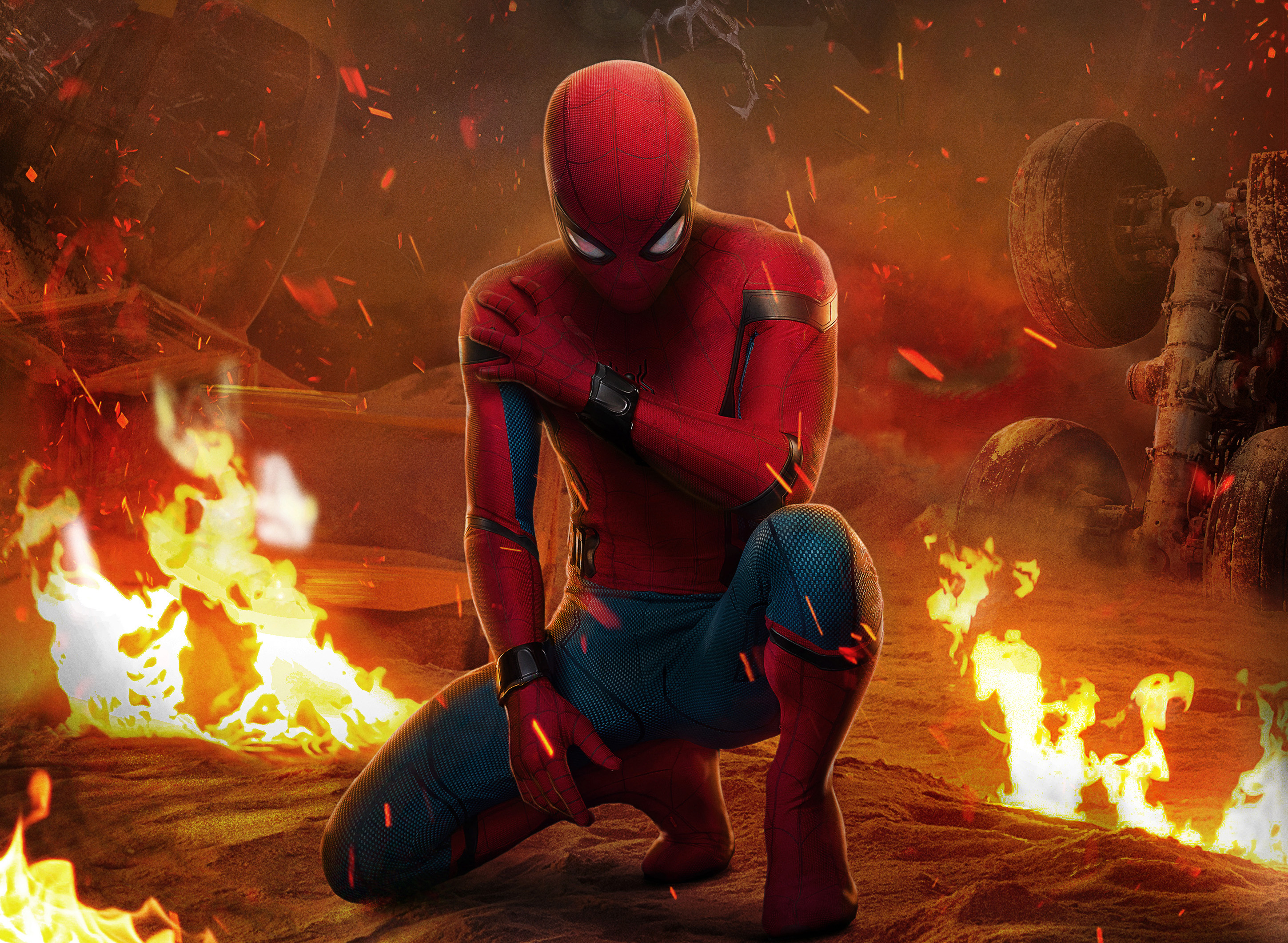 Homecoming Wallpaper Spiderman Far From Home 240672