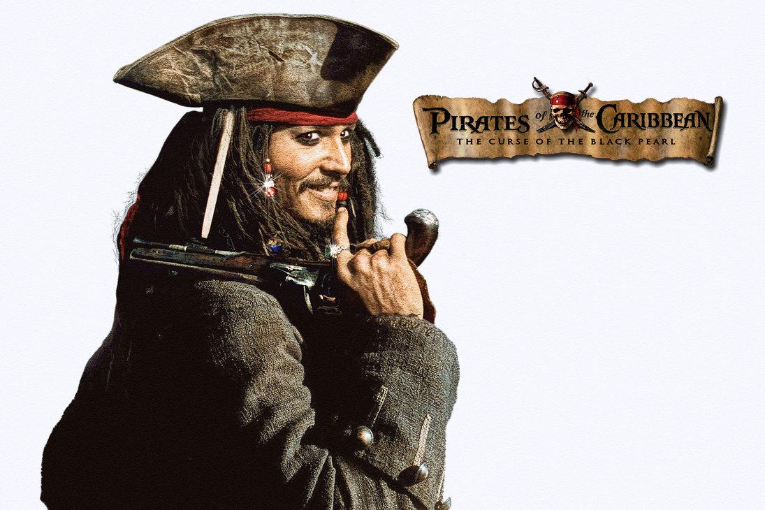Jack - Captain Jack Sparrow With Gun , HD Wallpaper & Backgrounds