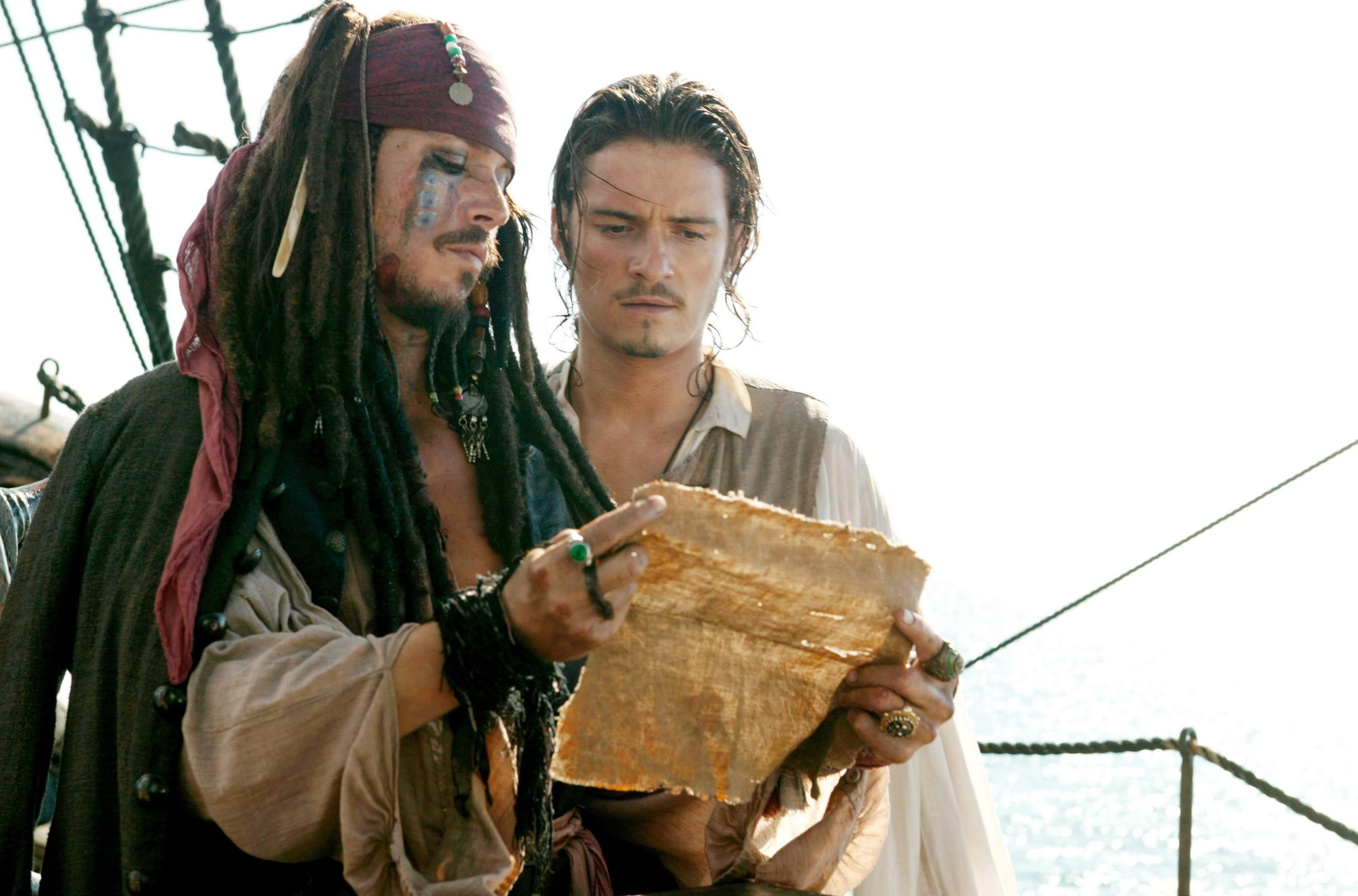 Captain - Johnny Depp Pirates Of The Caribbean Dead Man's Chest , HD Wallpaper & Backgrounds
