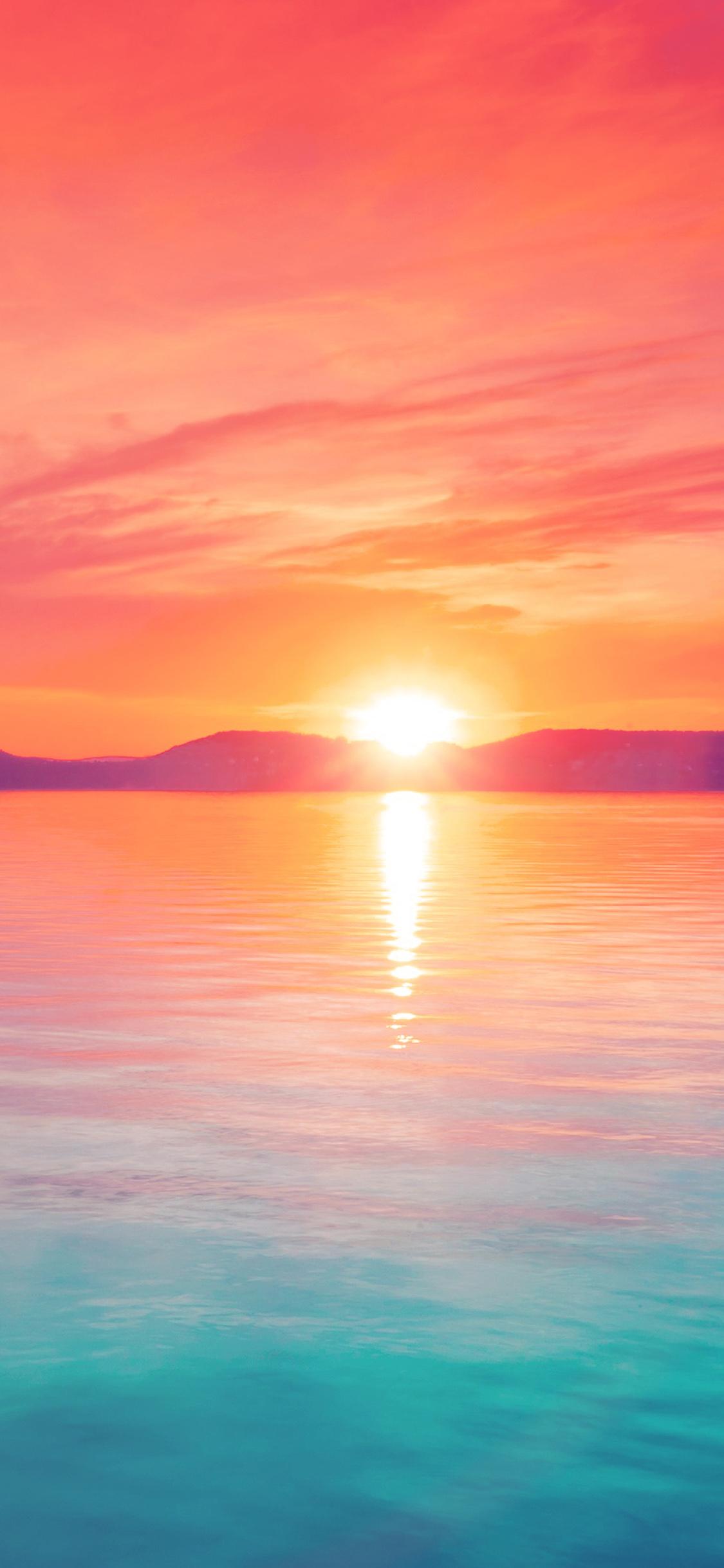 Iphone X - Sunset Wallpaper Iphone X , HD Wallpaper & Backgrounds